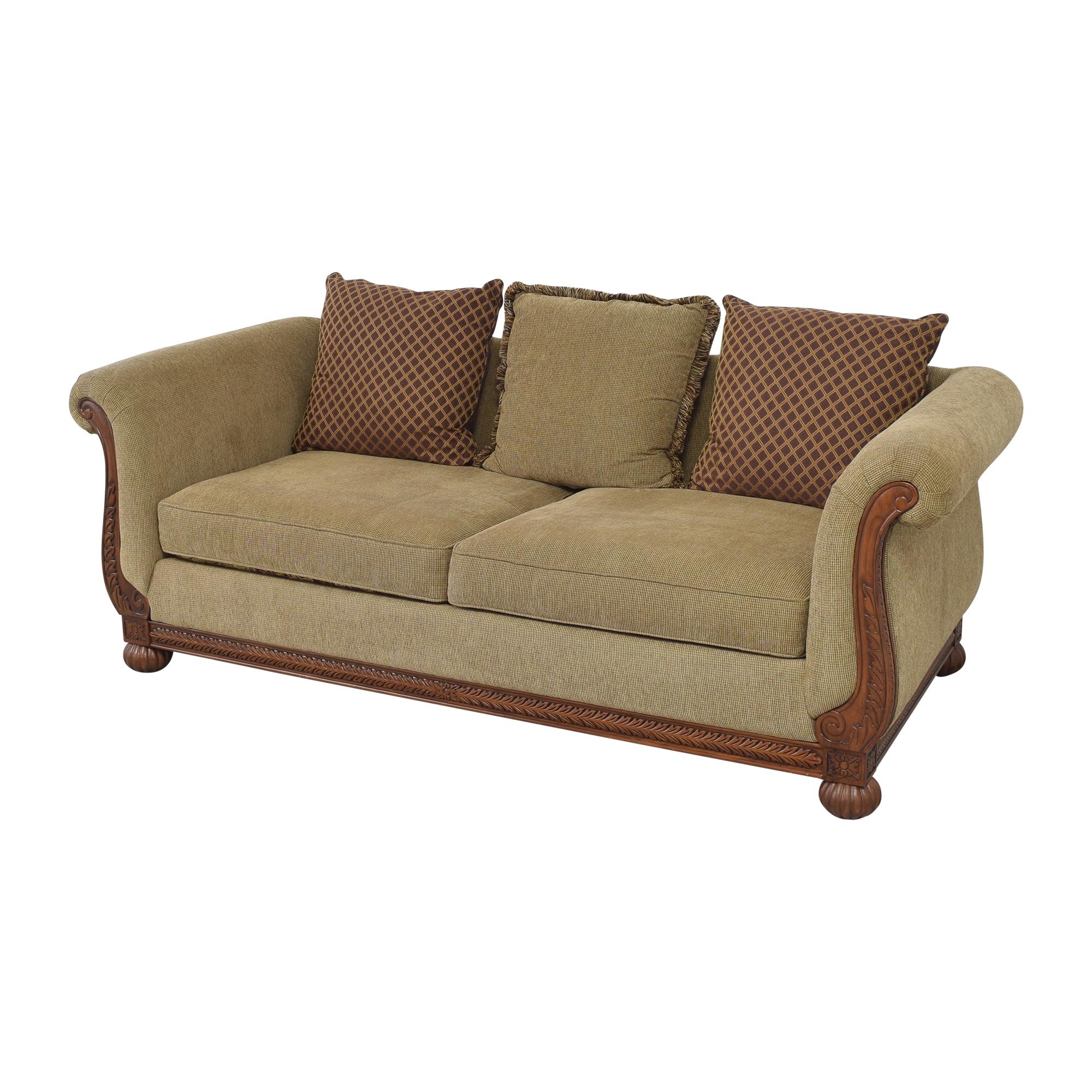 shop HM Richards Furniture HM Richards Furniture Traditional Roll Arm Sofa online