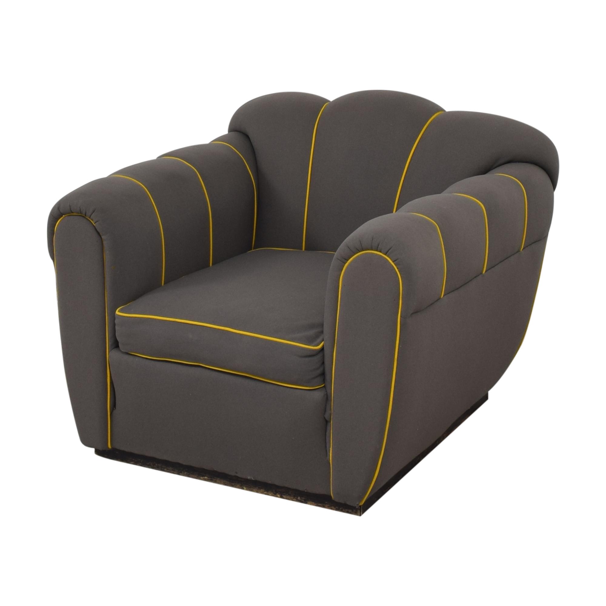 Custom Mid-Century Club Chair Chairs