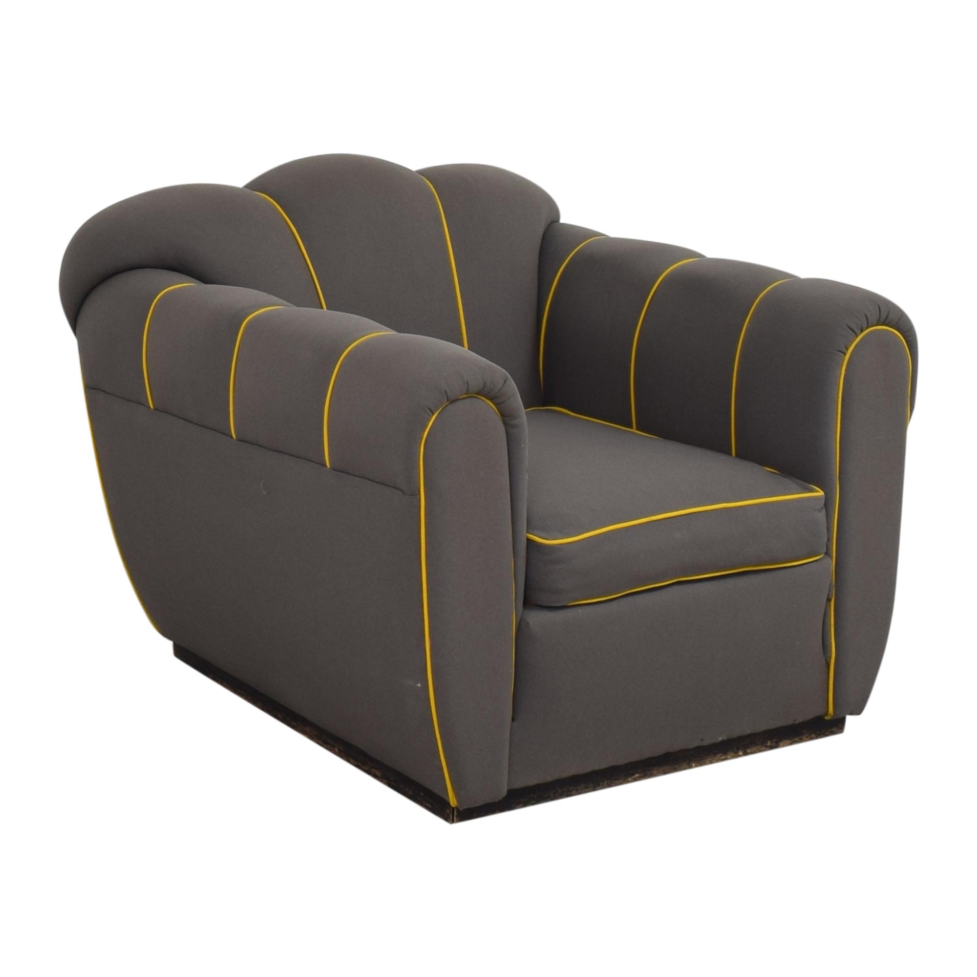 Custom Mid-Century Club Chair for sale