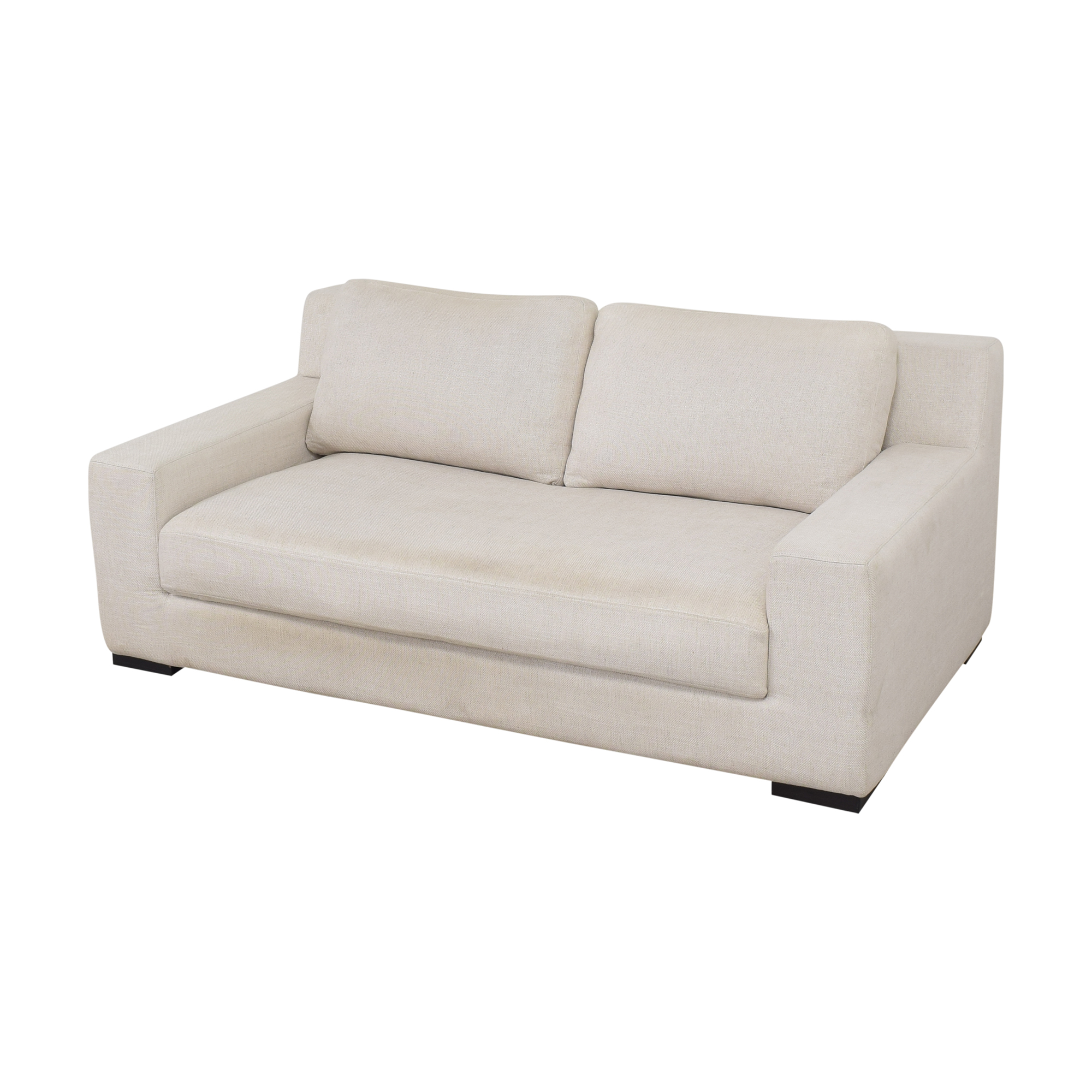 Restoration Hardware Restoration Hardware Modena Track Arm Bench-Seat Sofa for sale