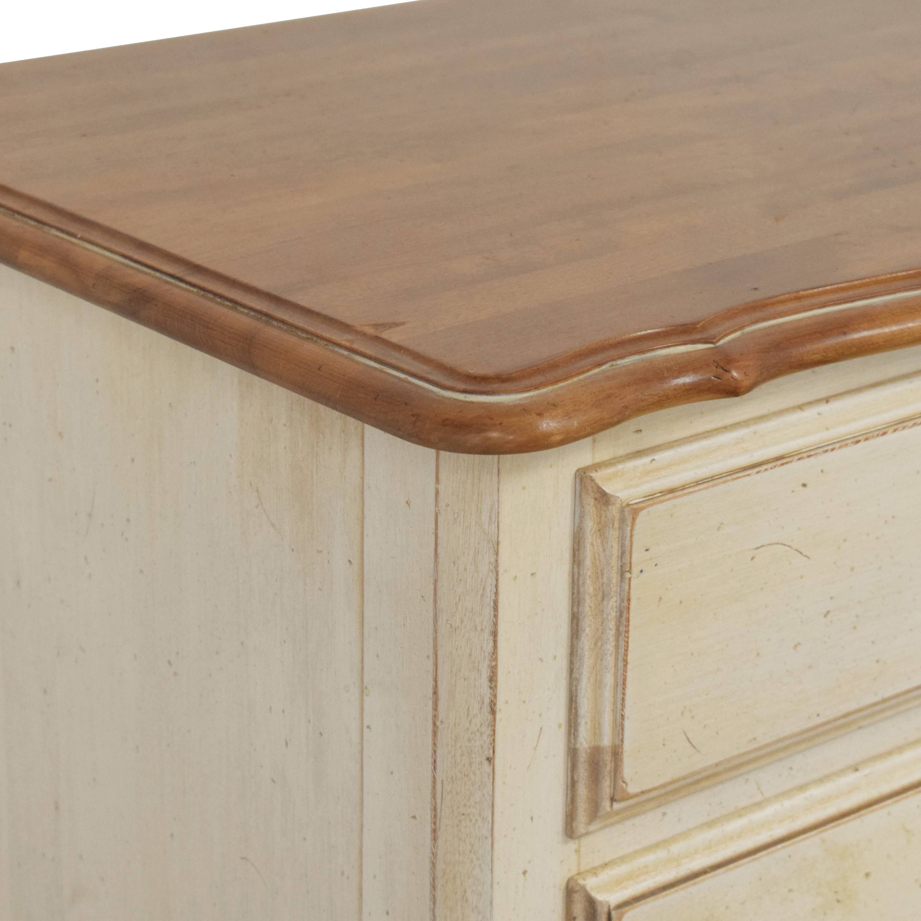 Ethan Allen Country French Nightstand  Ethan Allen