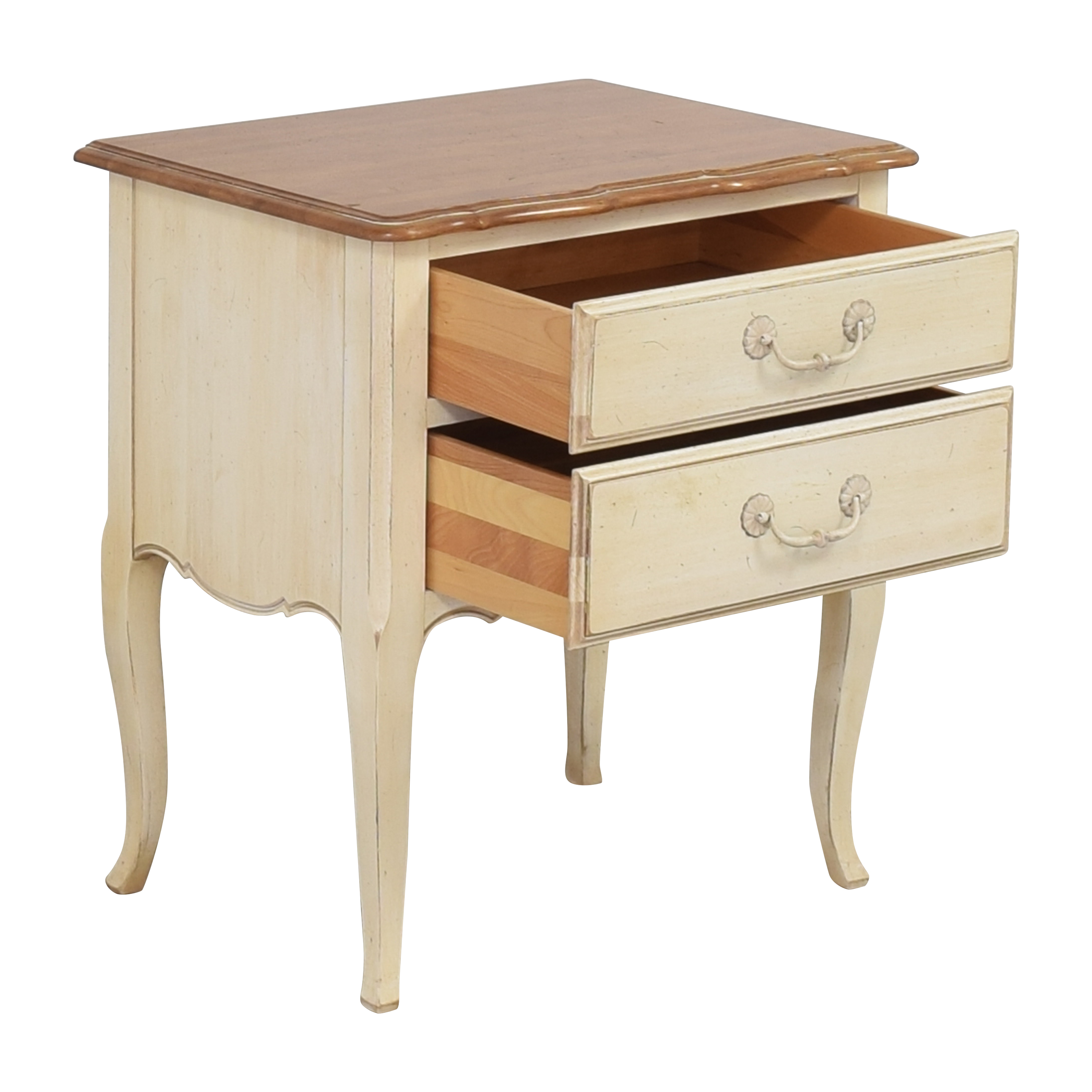 shop Ethan Allen Country French Nightstand  Ethan Allen End Tables
