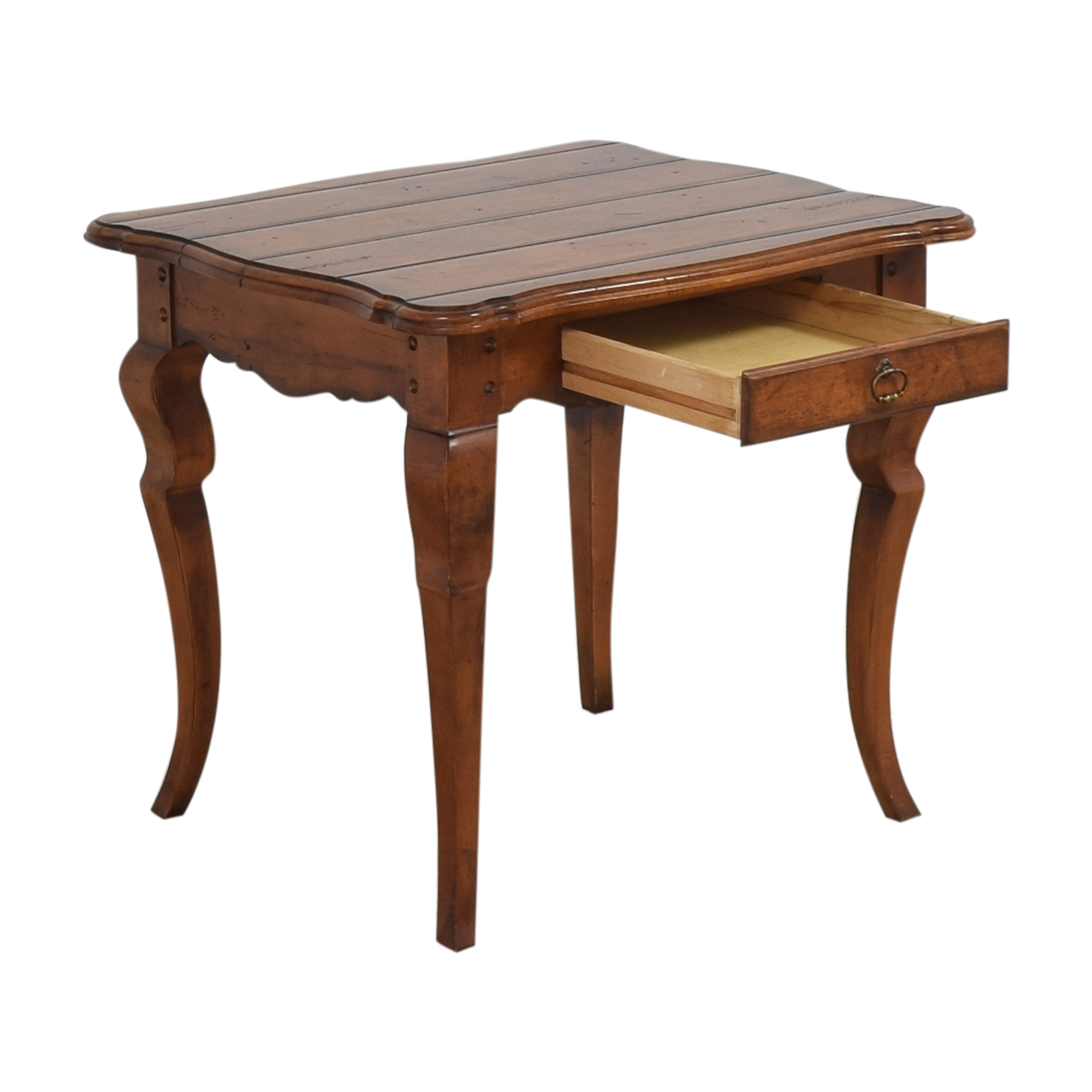 Century Furniture Century Furniture Vintage-Style End Table pa