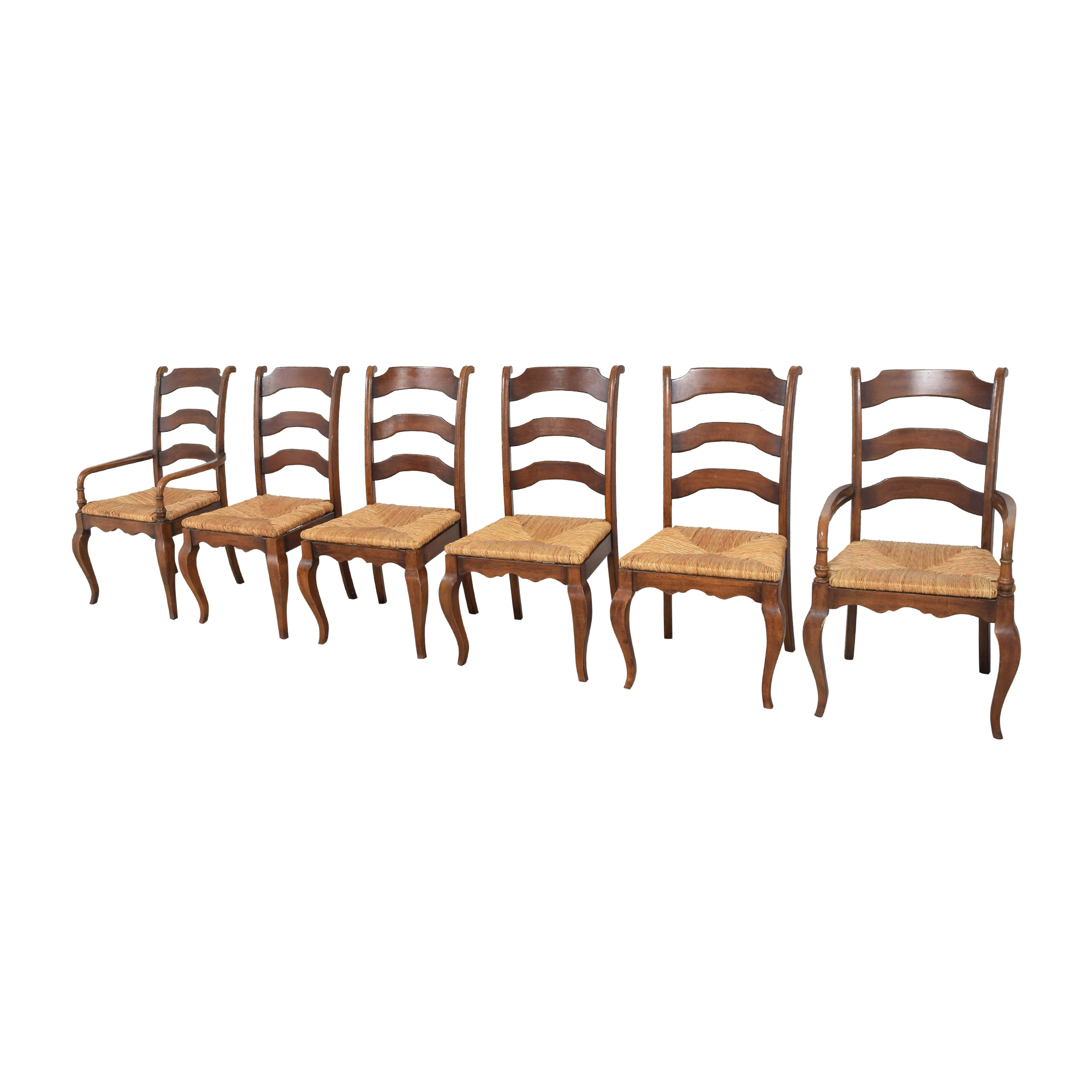Hooker Furniture Hooker Furniture Woven Seat Dining Chairs ct
