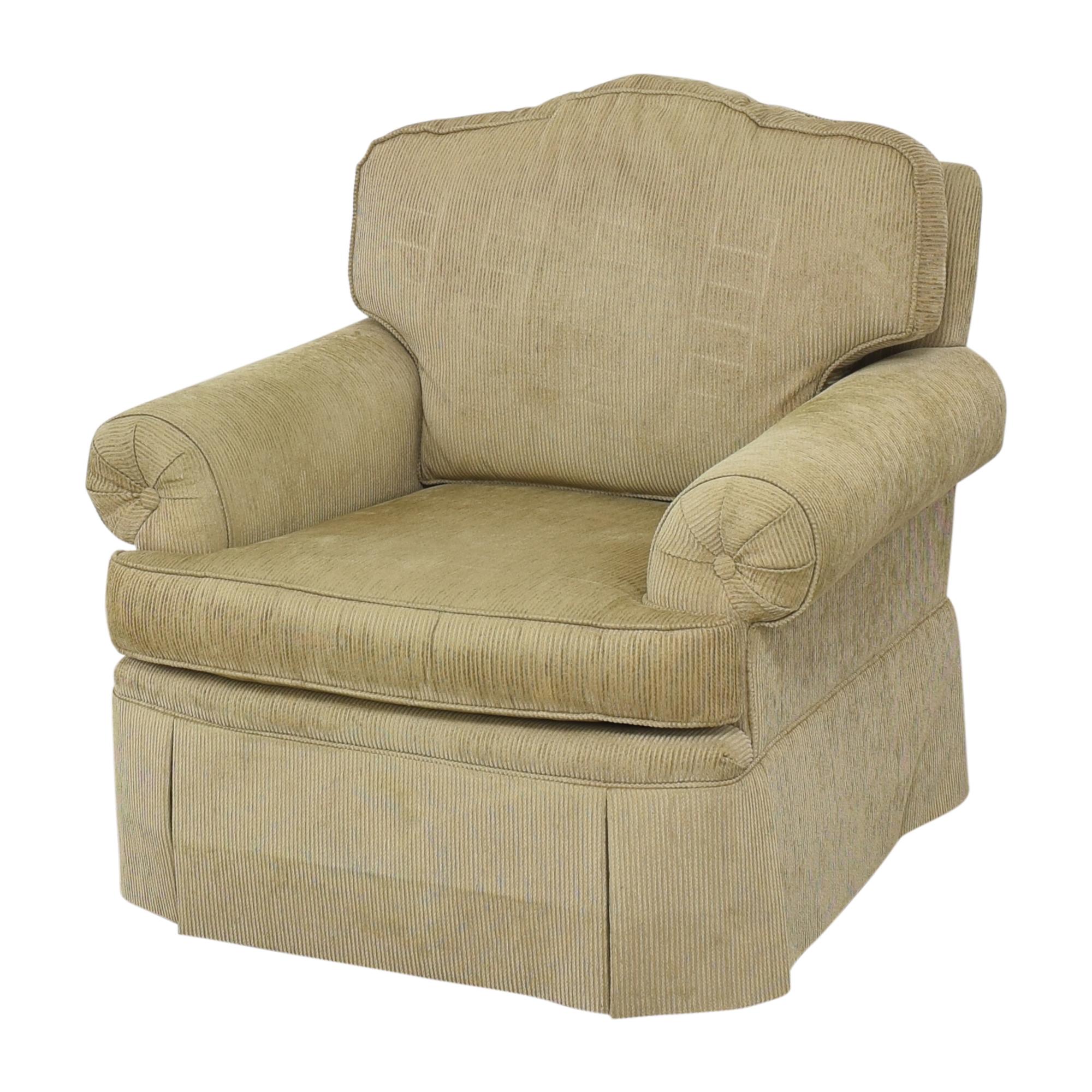 Drexel Heritage Drexel Heritage Skirted Club Chair pa