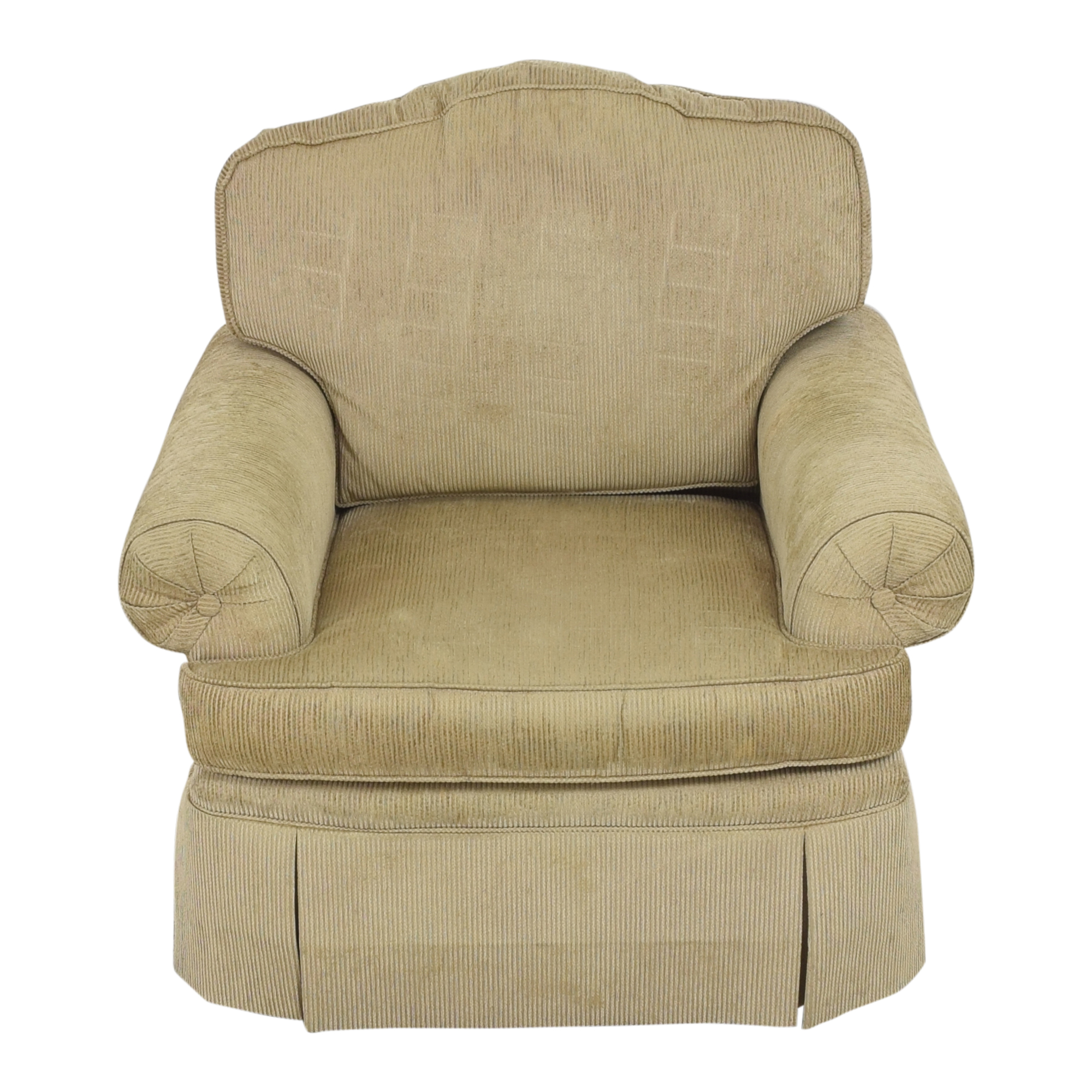 Drexel Heritage Drexel Heritage Skirted Club Chair second hand
