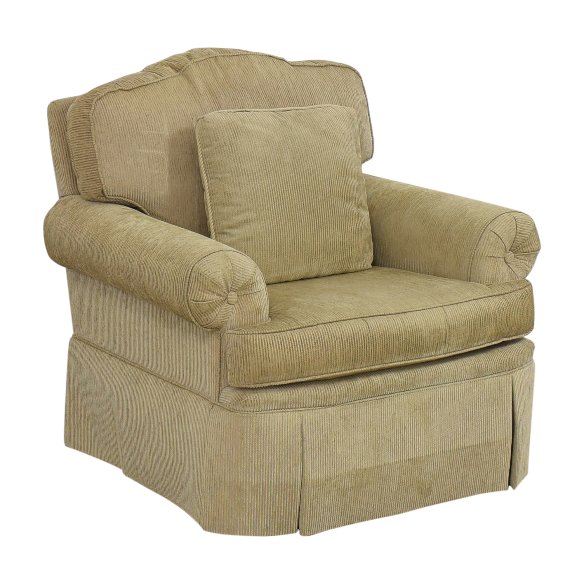 Drexel Heritage Skirted Club Chair sale