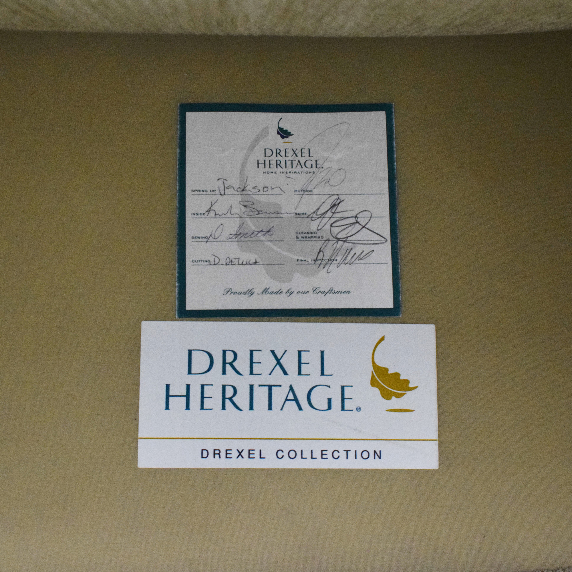 shop Drexel Heritage Skirted Club Chair Drexel Heritage Accent Chairs