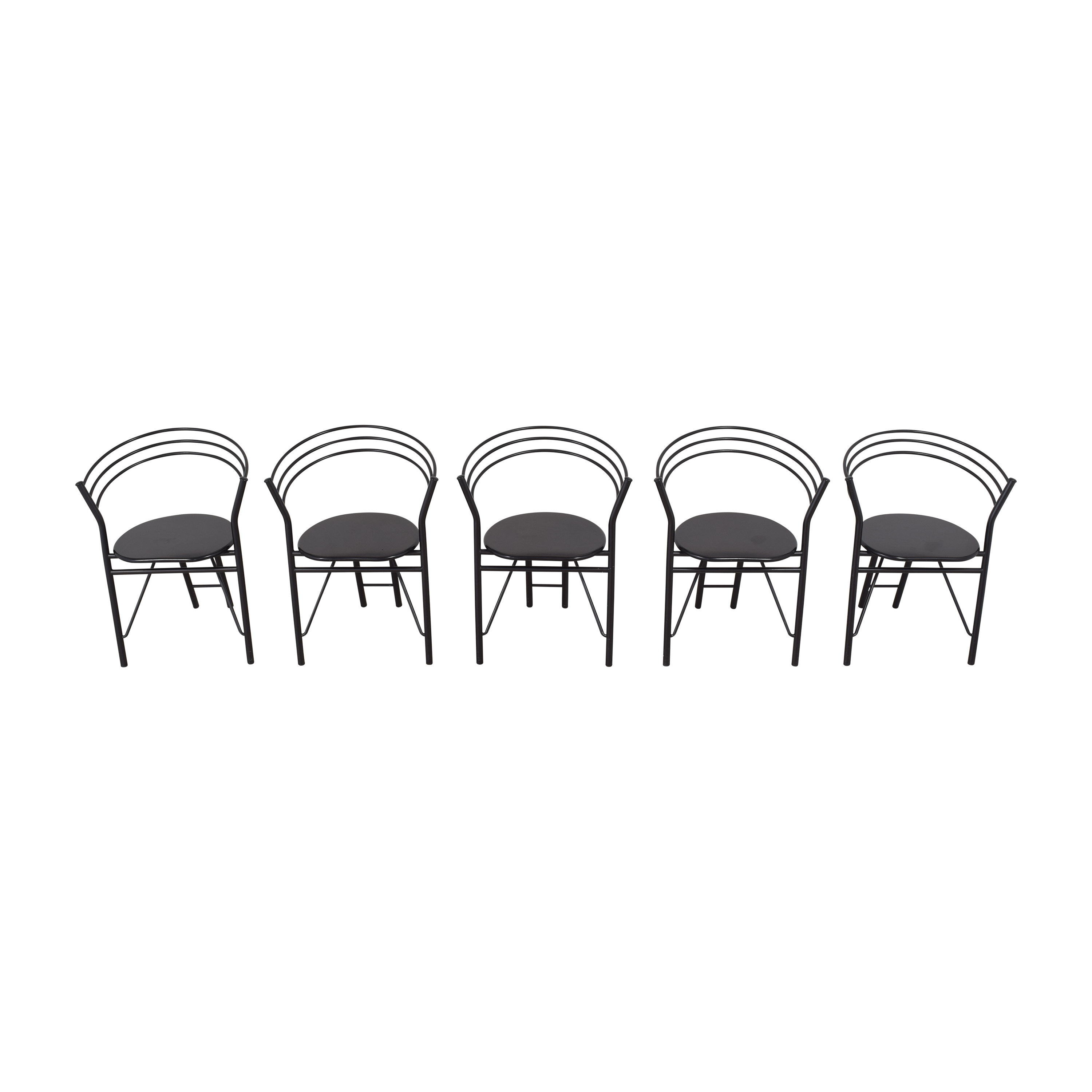 Round Back Dining Chairs for sale