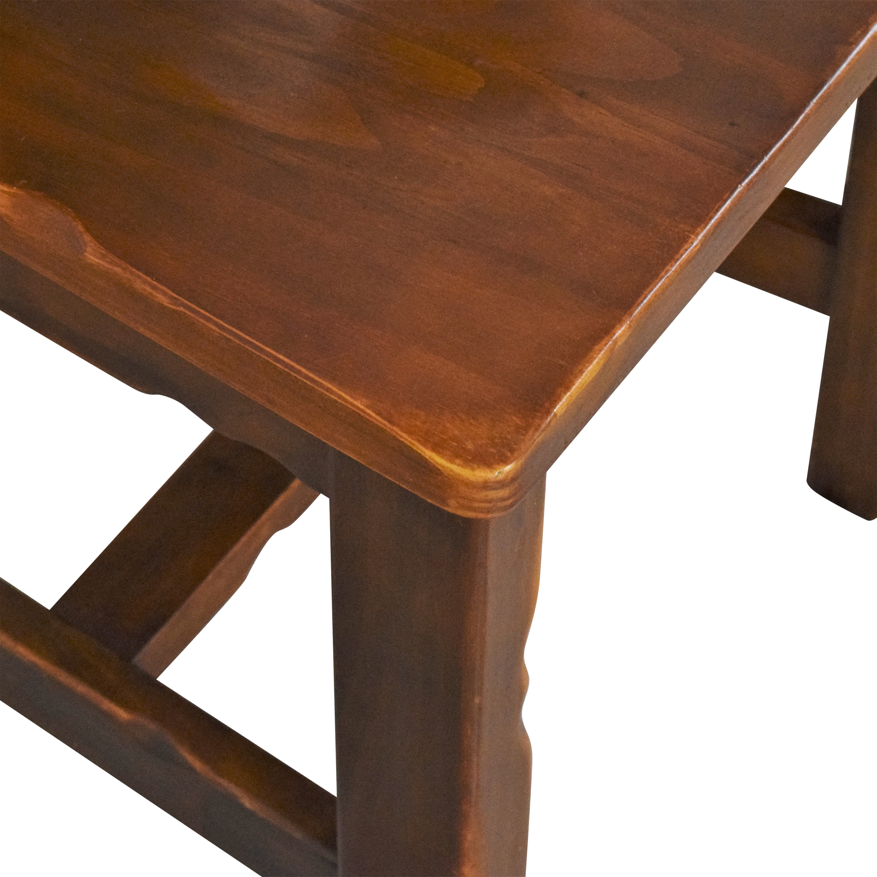 Pier 1 Pier 1 Rustic Dining Chairs Brown
