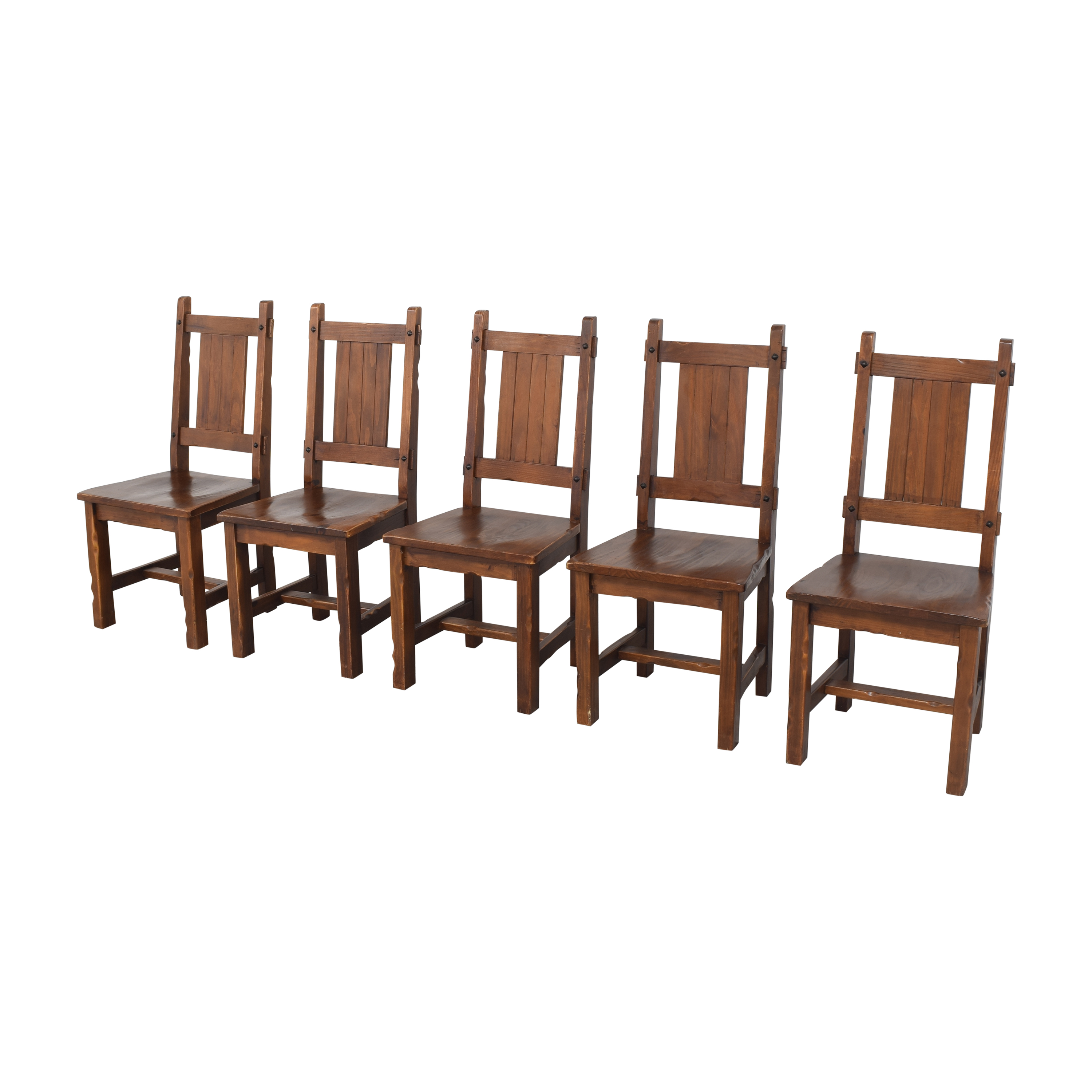 Pier 1 Pier 1 Rustic Dining Chairs for sale