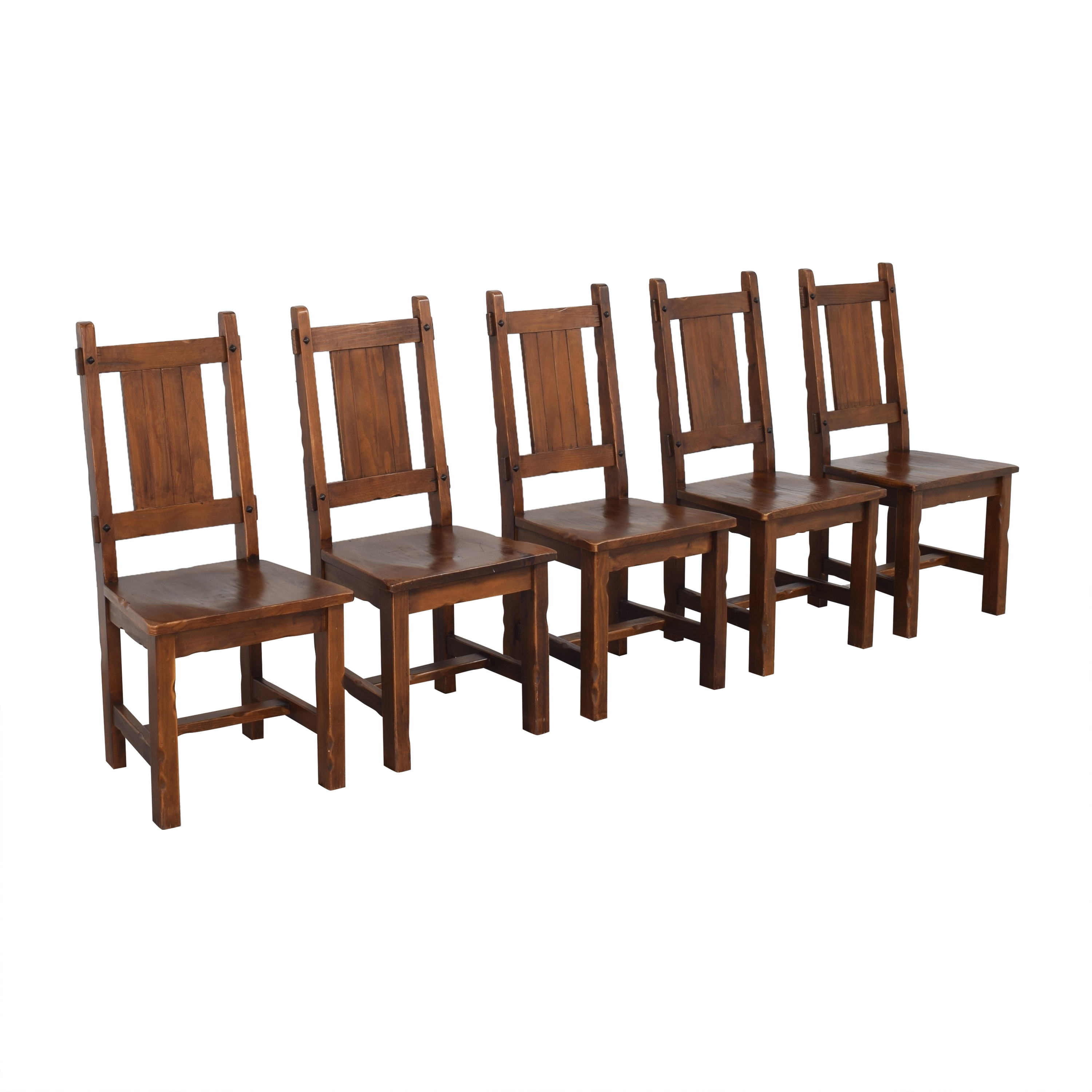 shop Pier 1 Rustic Dining Chairs Pier 1