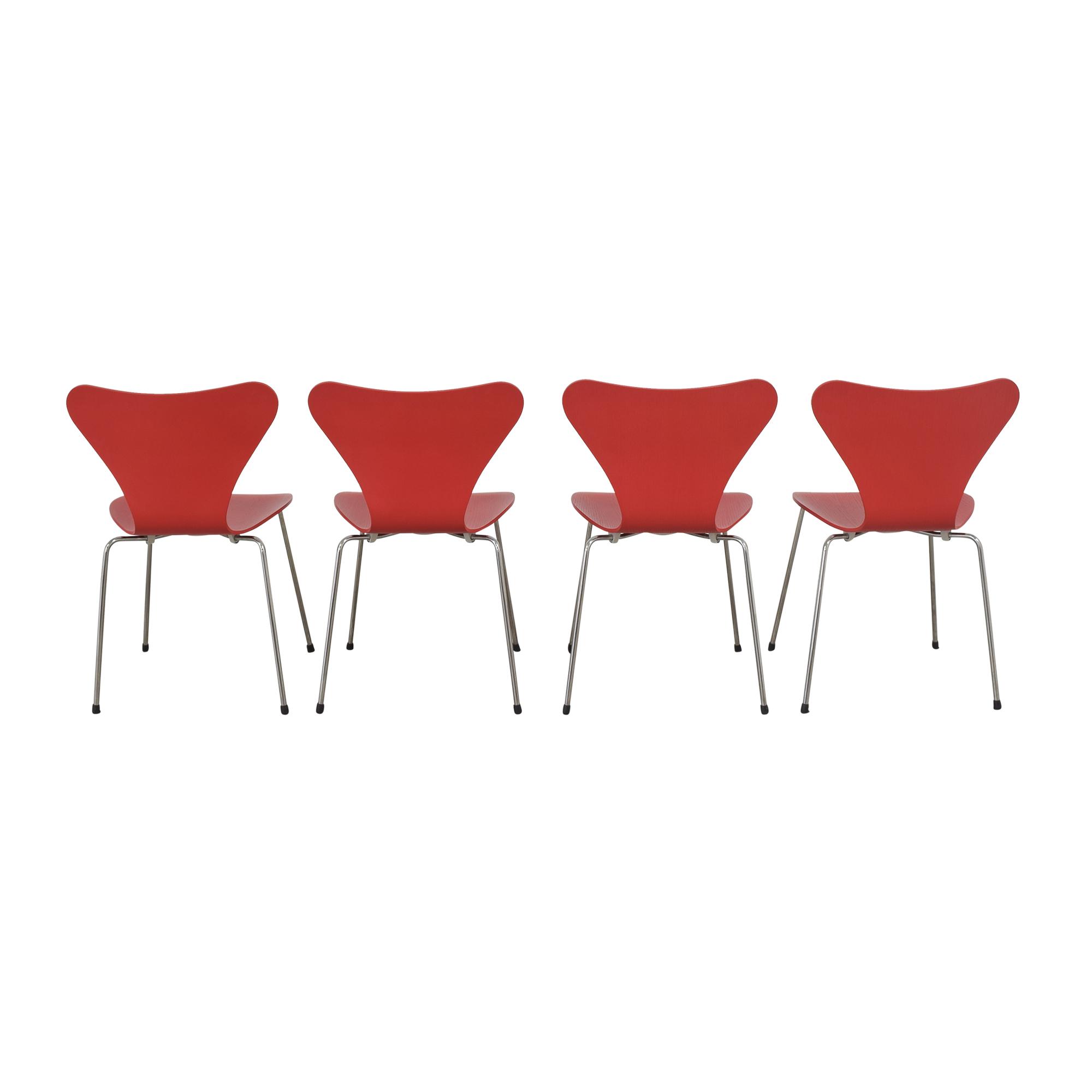 Fritz Hansen Fritz Hansen Series 7 Chairs discount