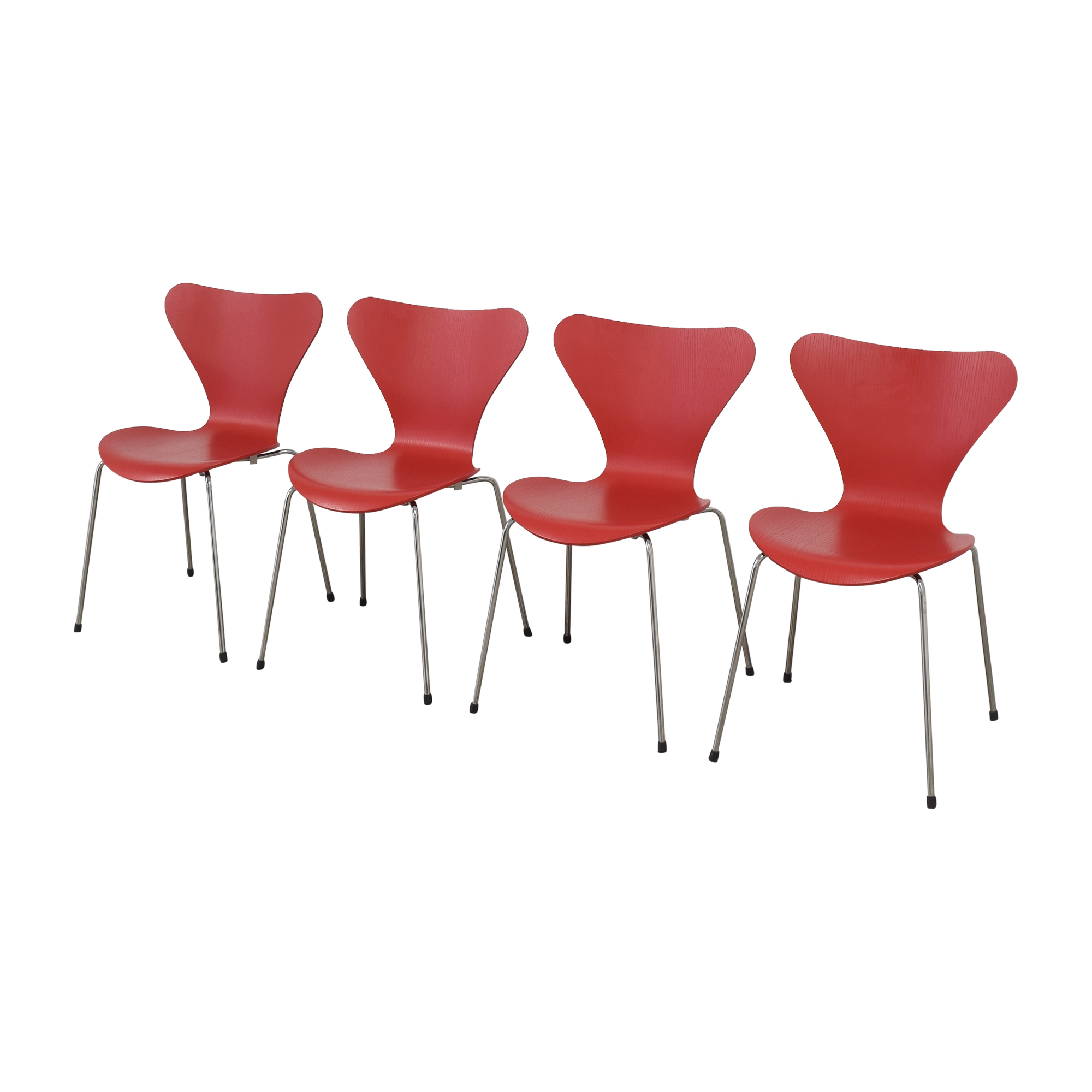 Fritz Hansen Fritz Hansen Series 7 Chairs ma