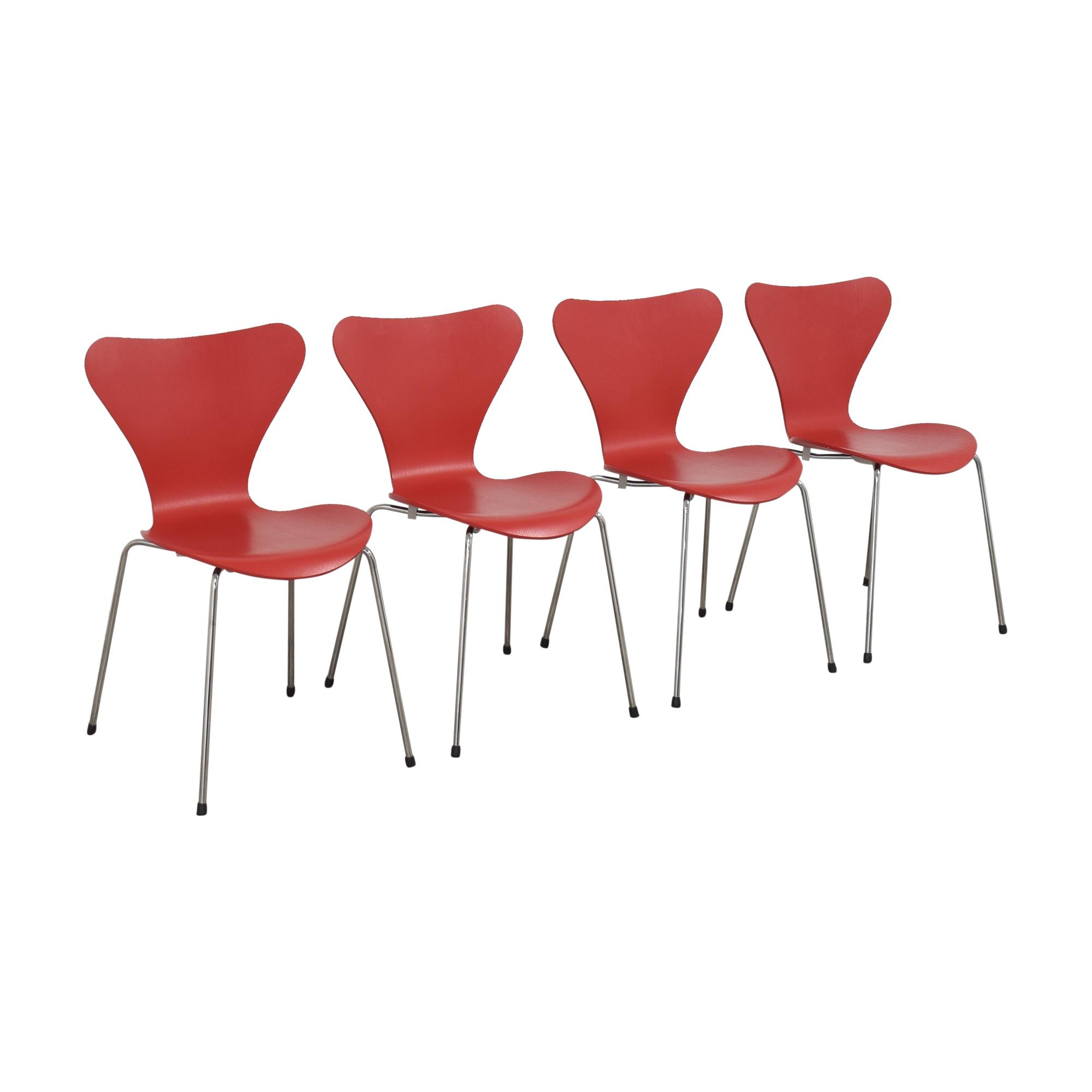 Fritz Hansen Series 7 Chairs Fritz Hansen