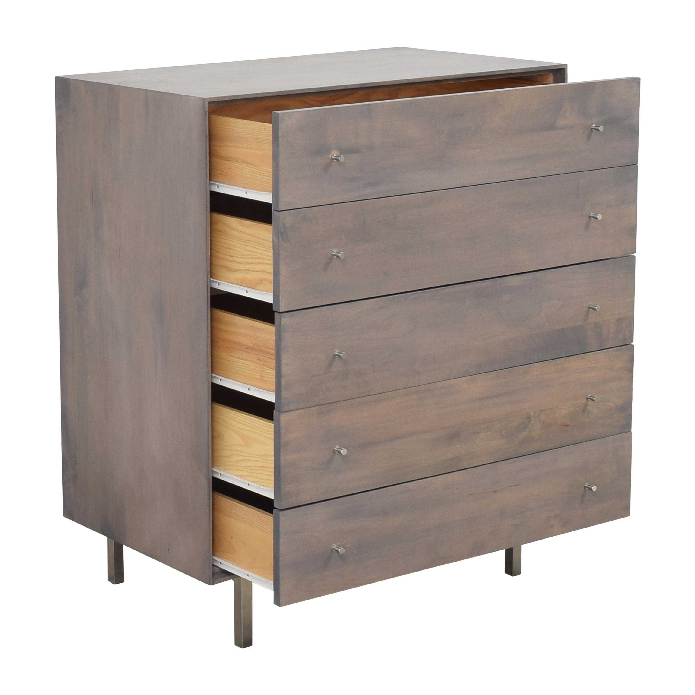buy Room & Board Hudson Five Drawer Chest Room & Board Storage