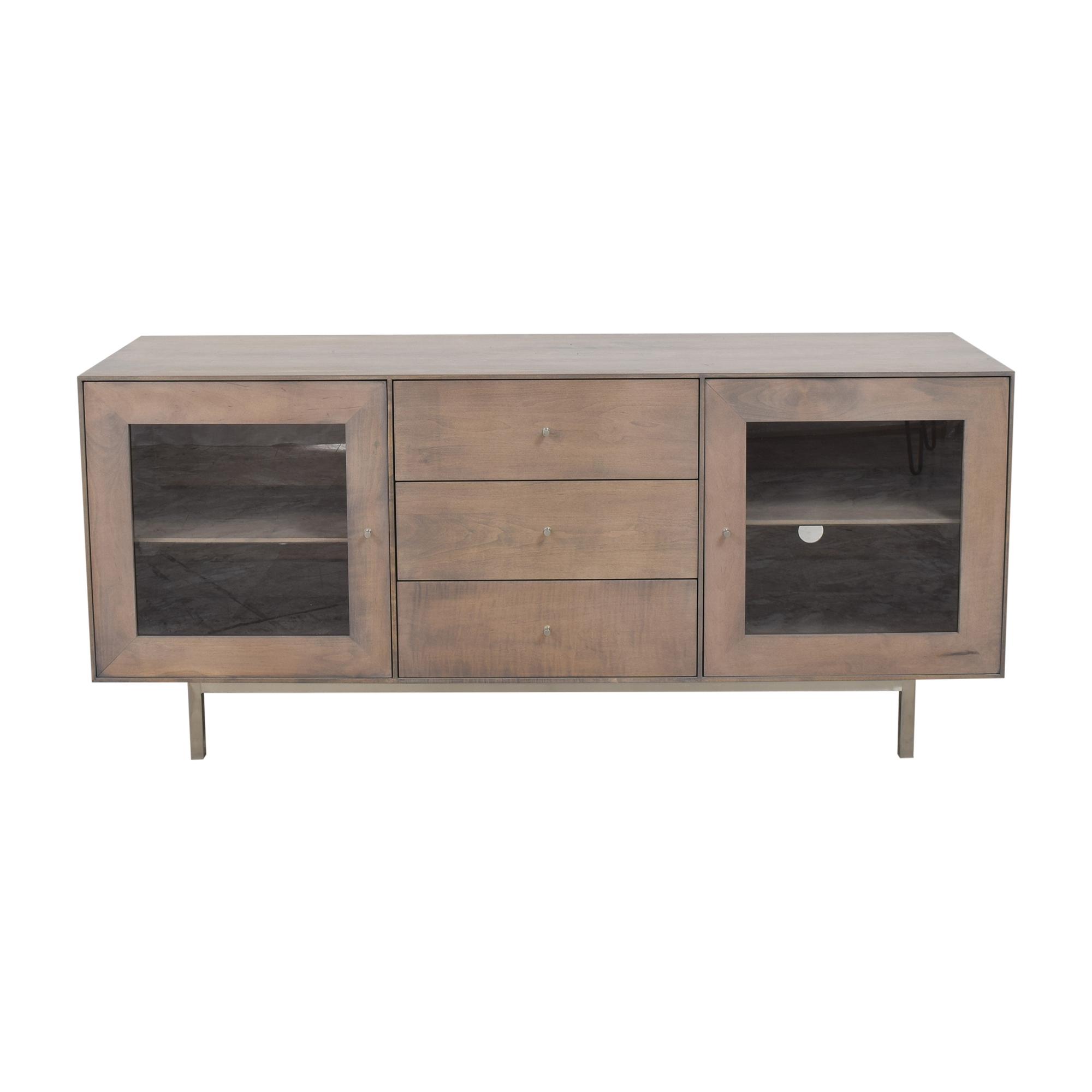 shop Room & Board Hudson Media Cabinet Room & Board Storage