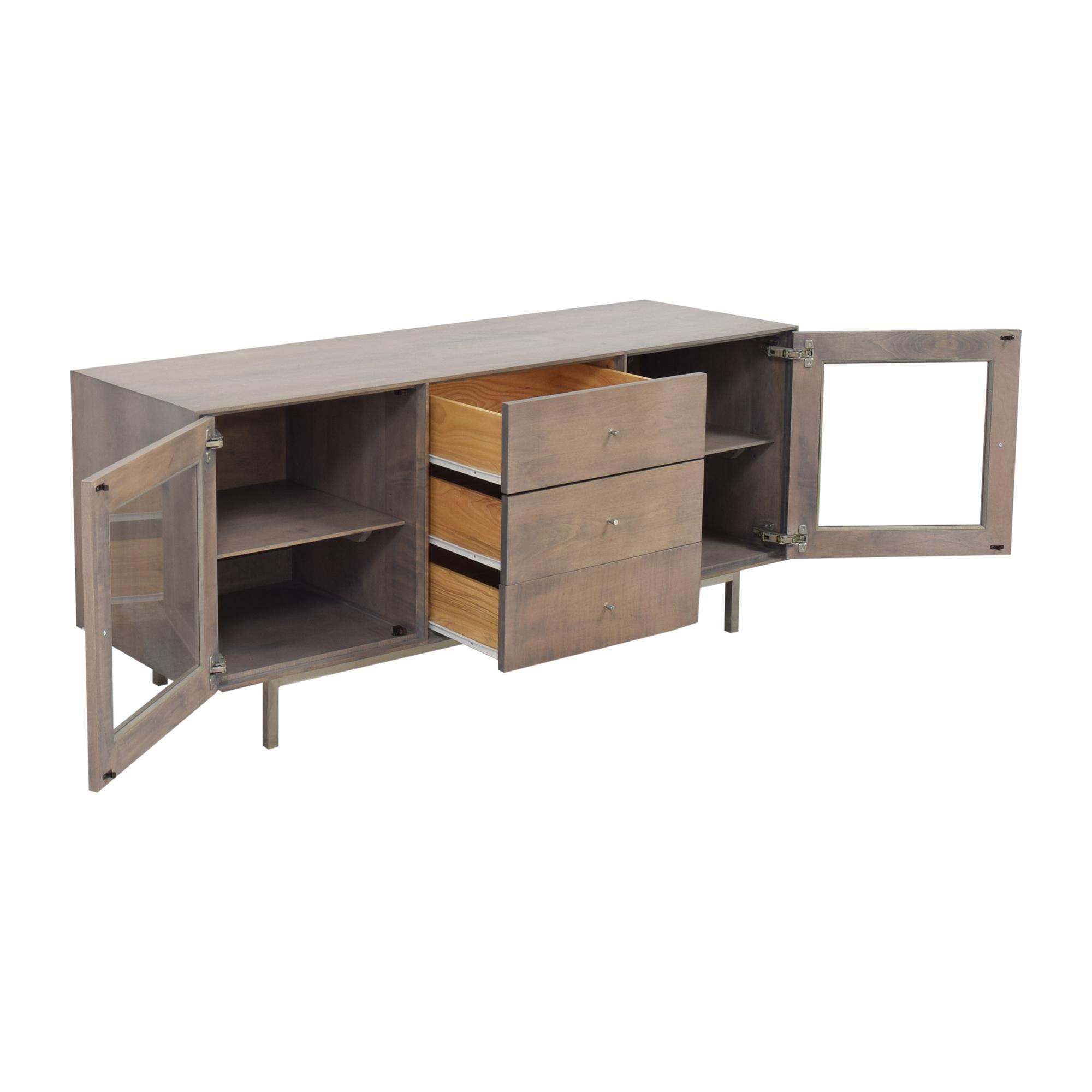 Room & Board Room & Board Hudson Media Cabinet Storage