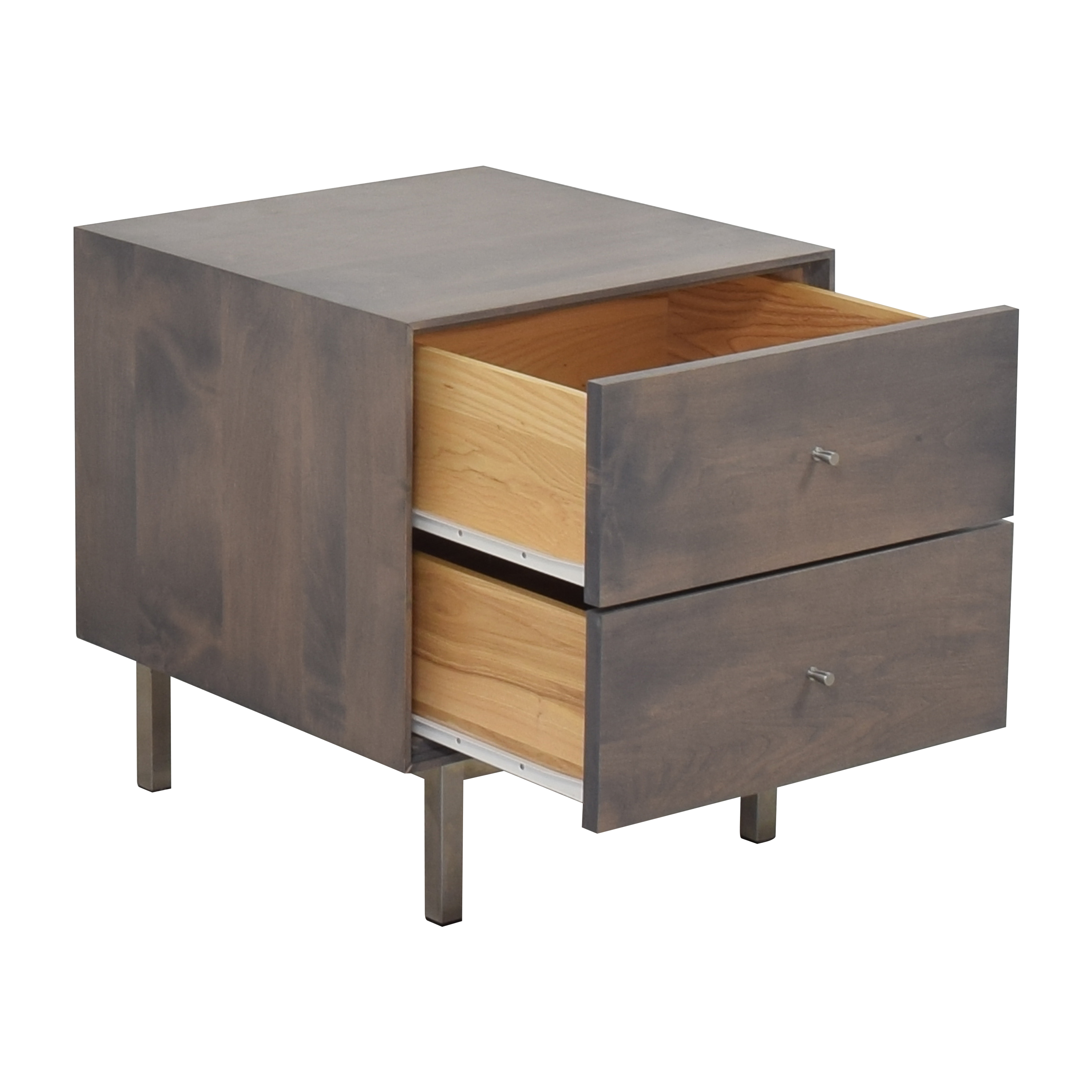 Room & Board Room & Board Hudson Two Drawer Nightstand End Tables
