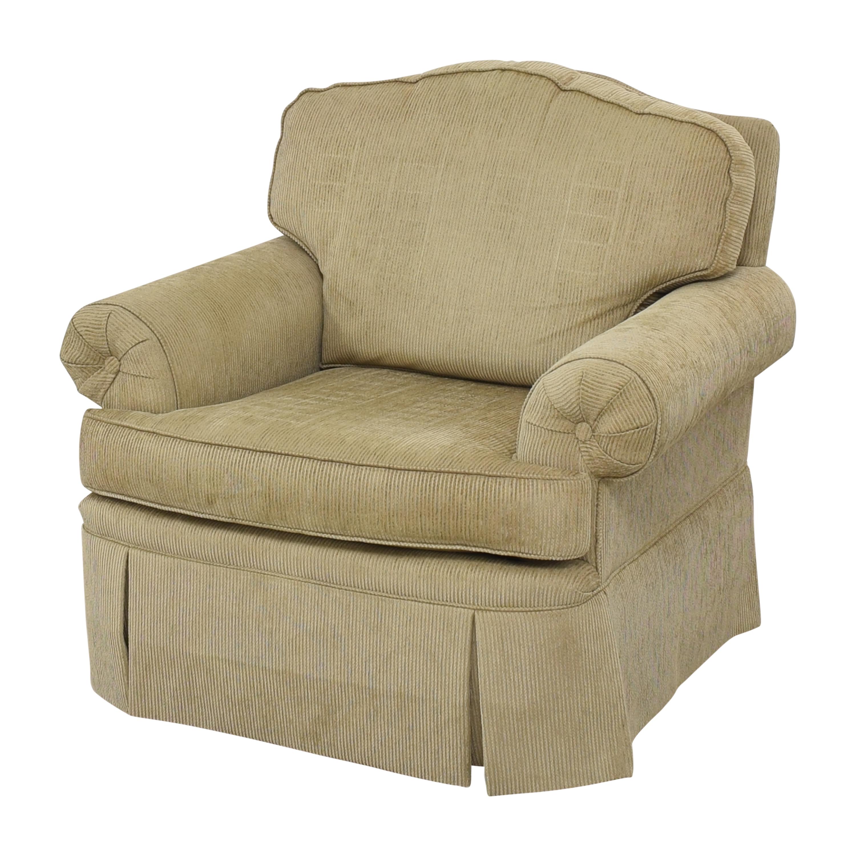 Drexel Heritage Drexel Heritage Skirted Club Chair ct