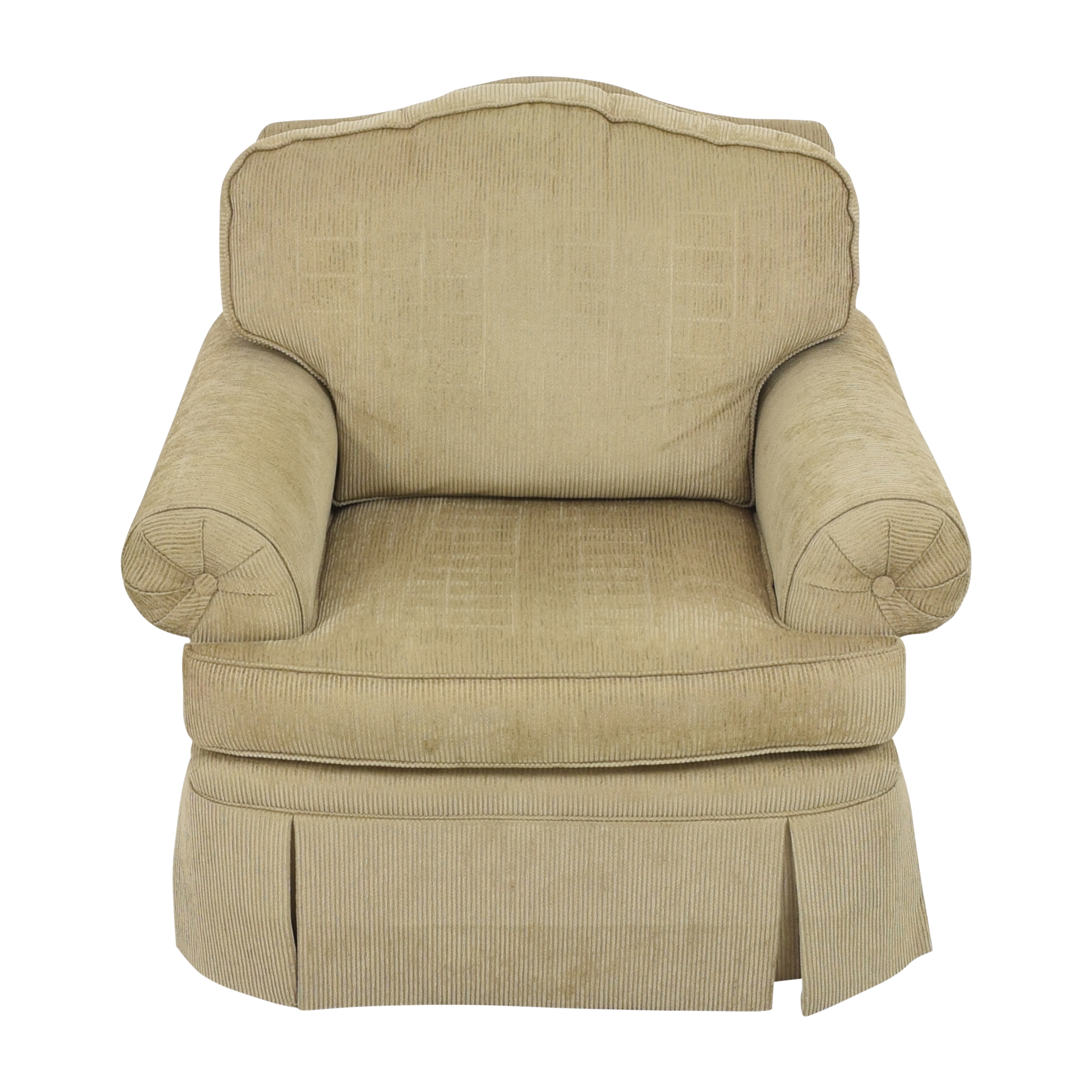 buy Drexel Heritage Skirted Club Chair Drexel Heritage Accent Chairs