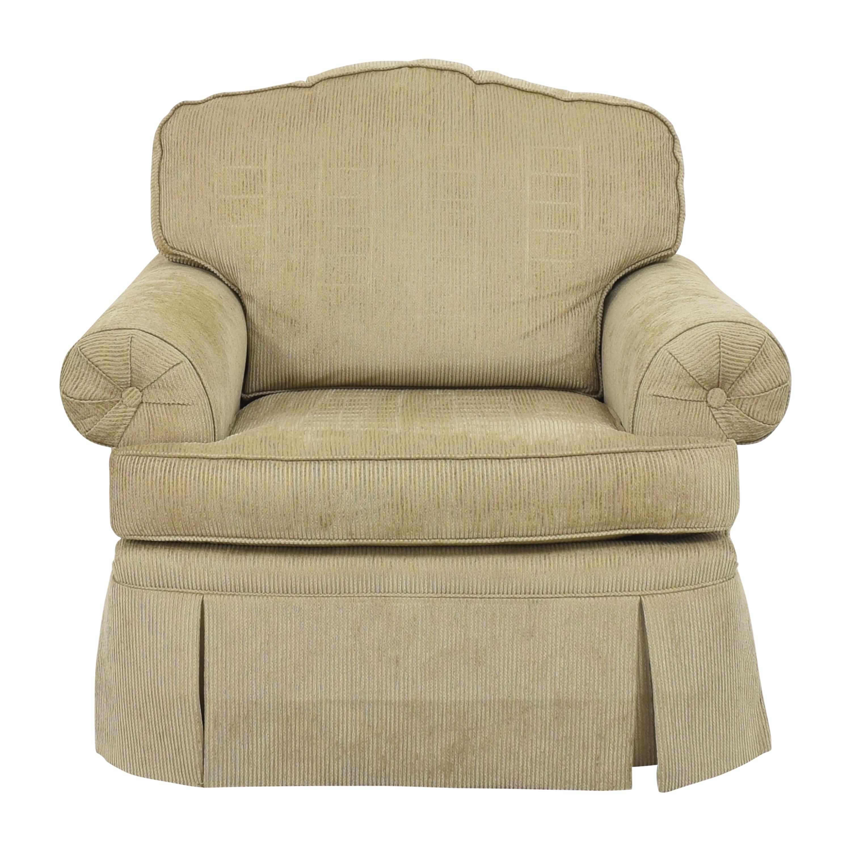 Drexel Heritage Drexel Heritage Skirted Club Chair discount