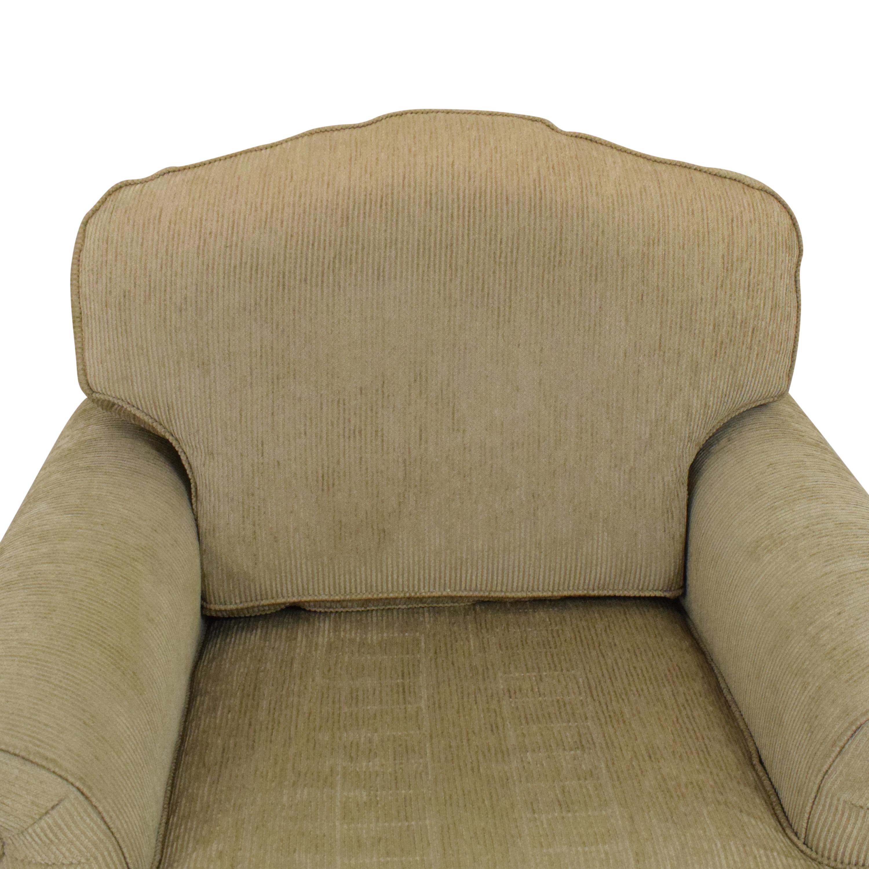 Drexel Heritage Drexel Heritage Skirted Club Chair beige