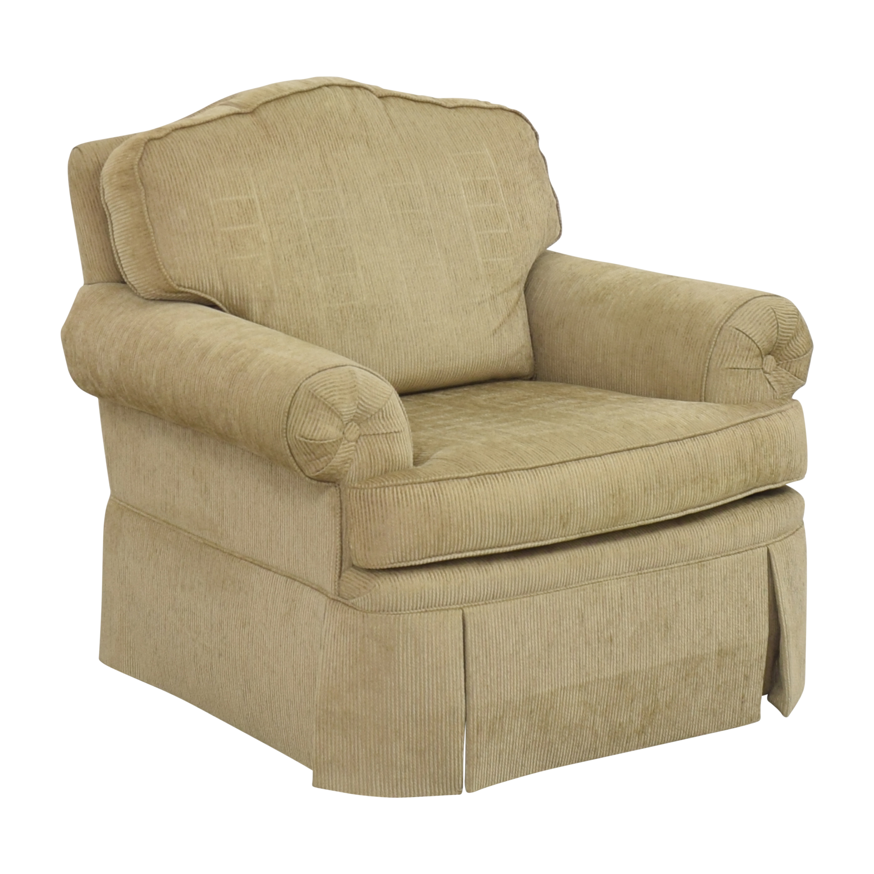 Drexel Heritage Drexel Heritage Skirted Club Chair Accent Chairs