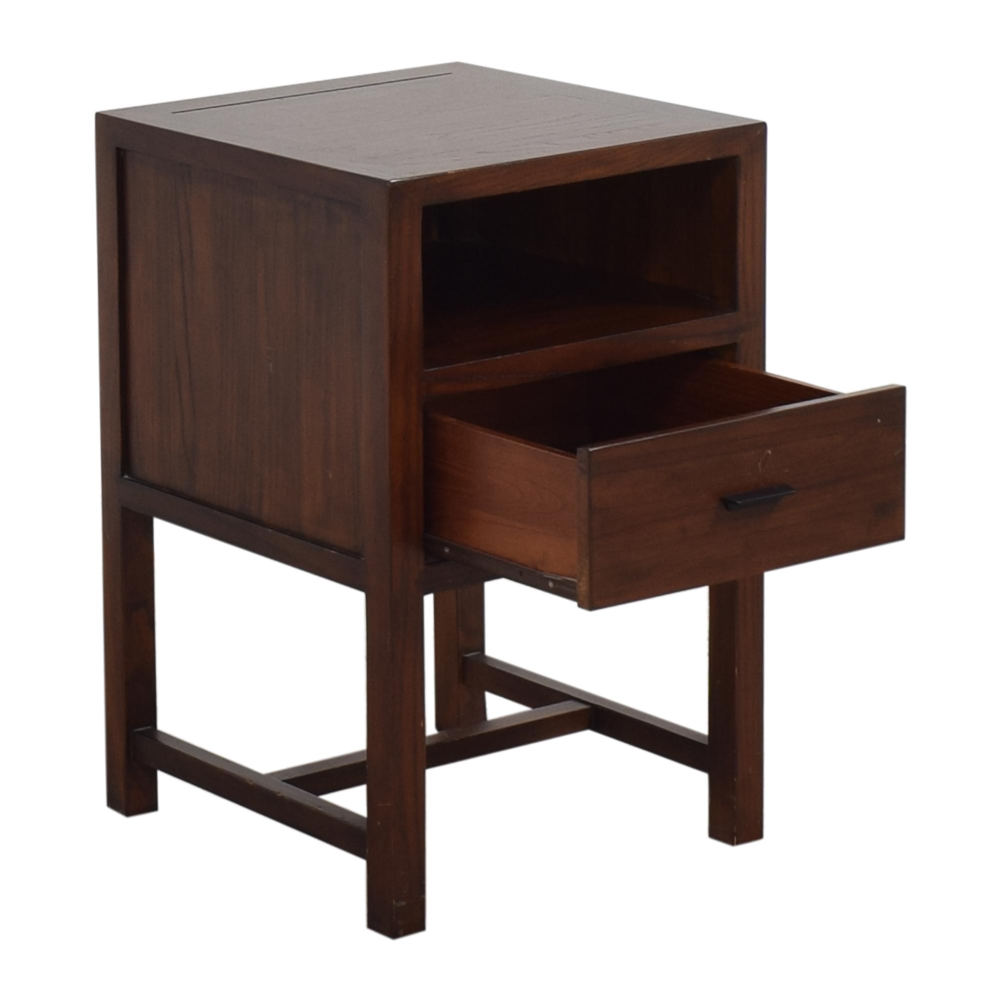 Modern One Drawer Nightstand on sale