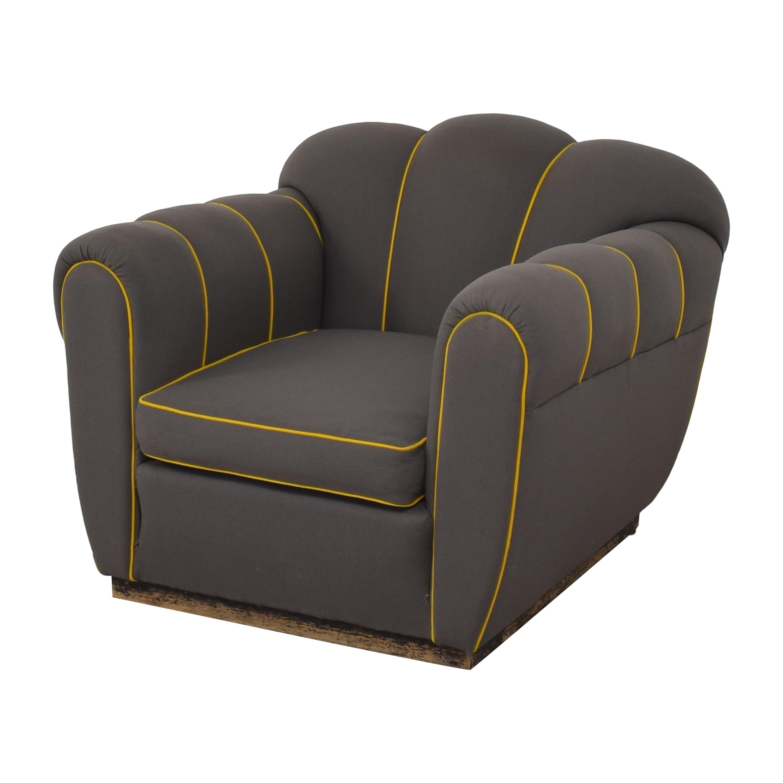 shop Custom Mid-Century Club Chair