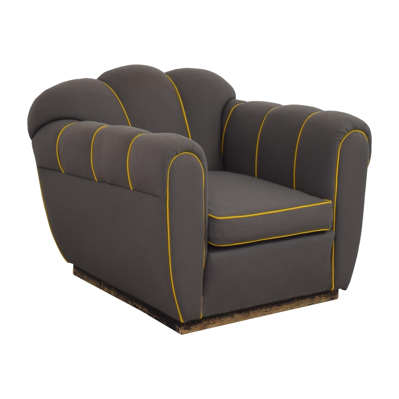 Custom Mid-Century Club Chair