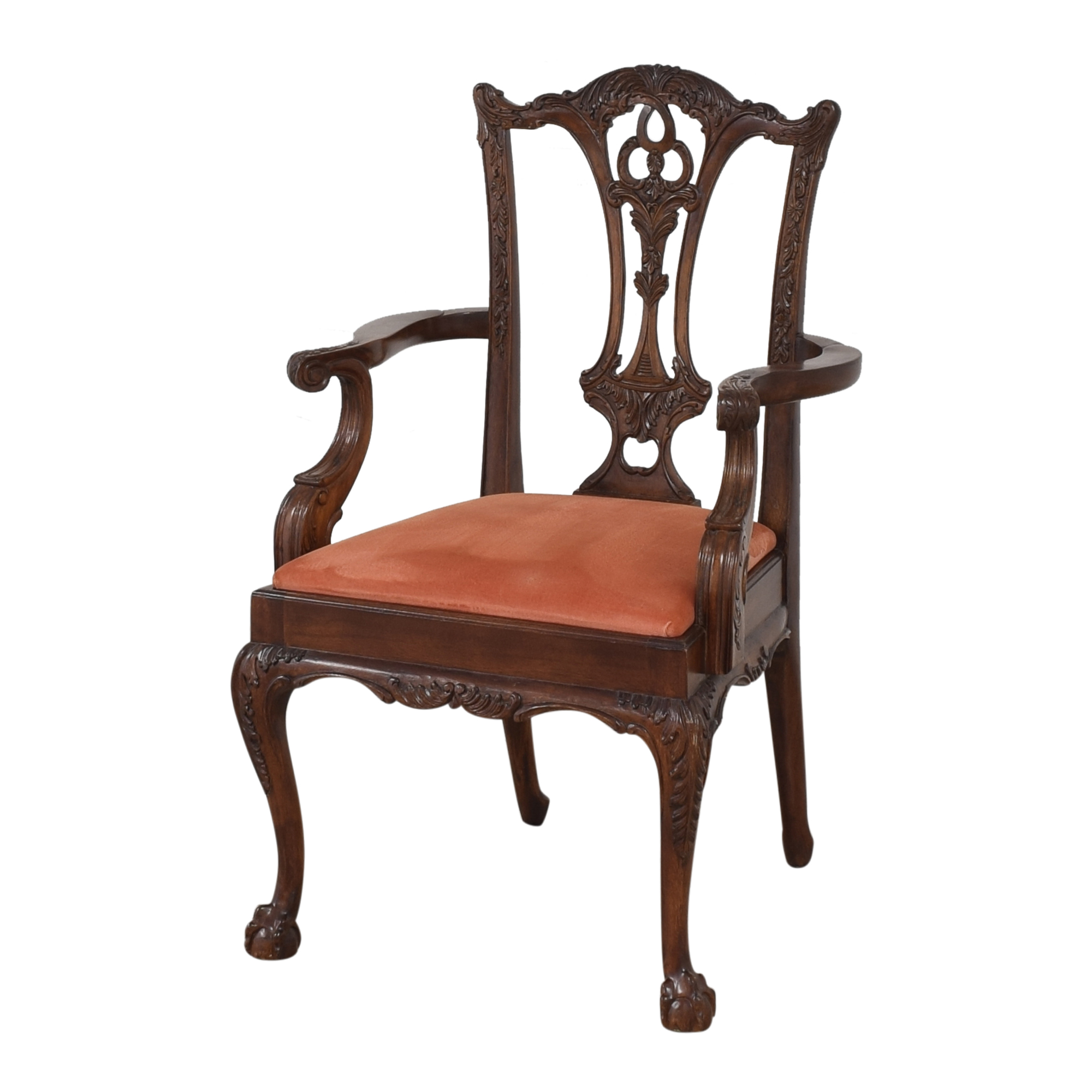 Custom Chippendale Dining Arm Chairs / Dining Chairs