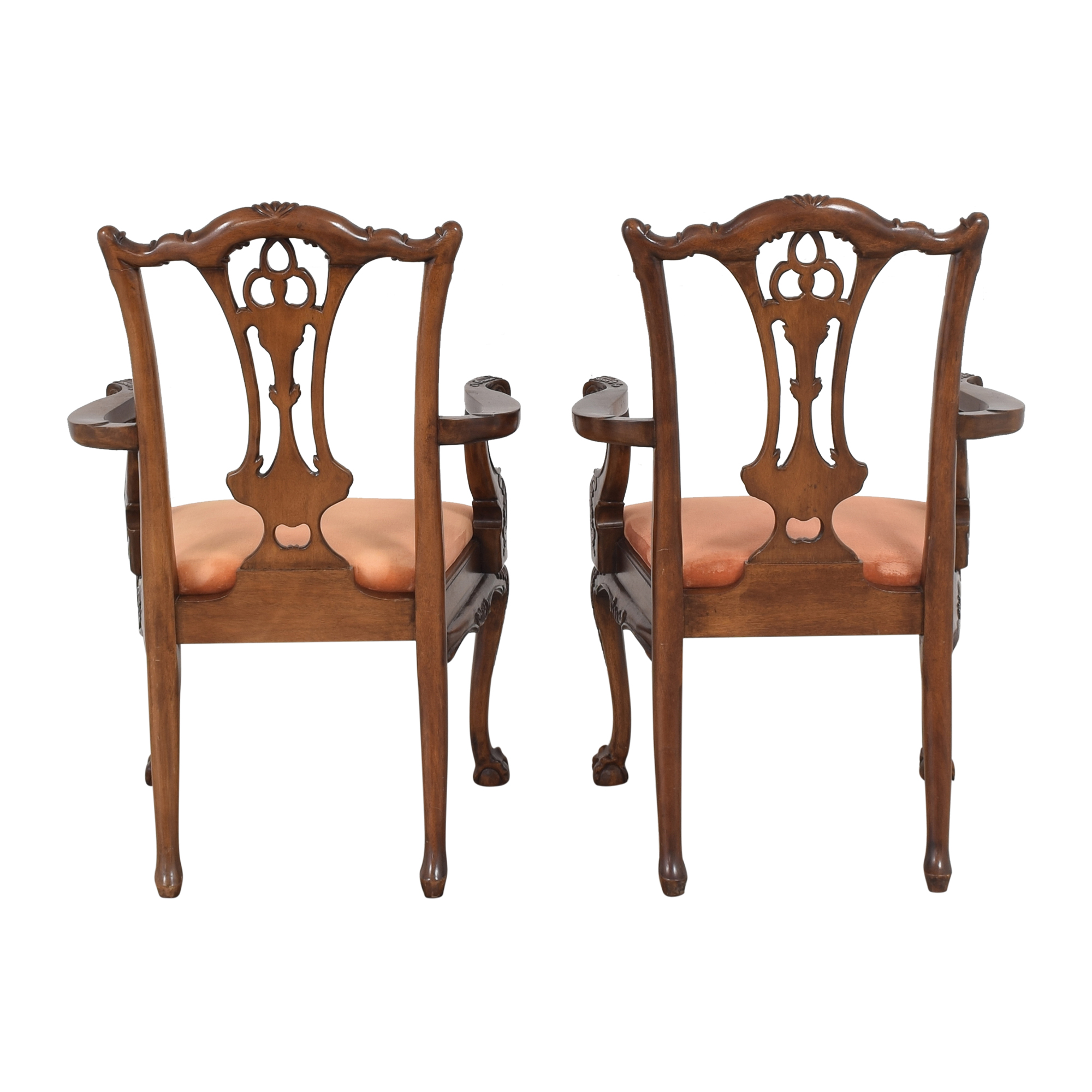 Custom Chippendale Dining Arm Chairs coupon