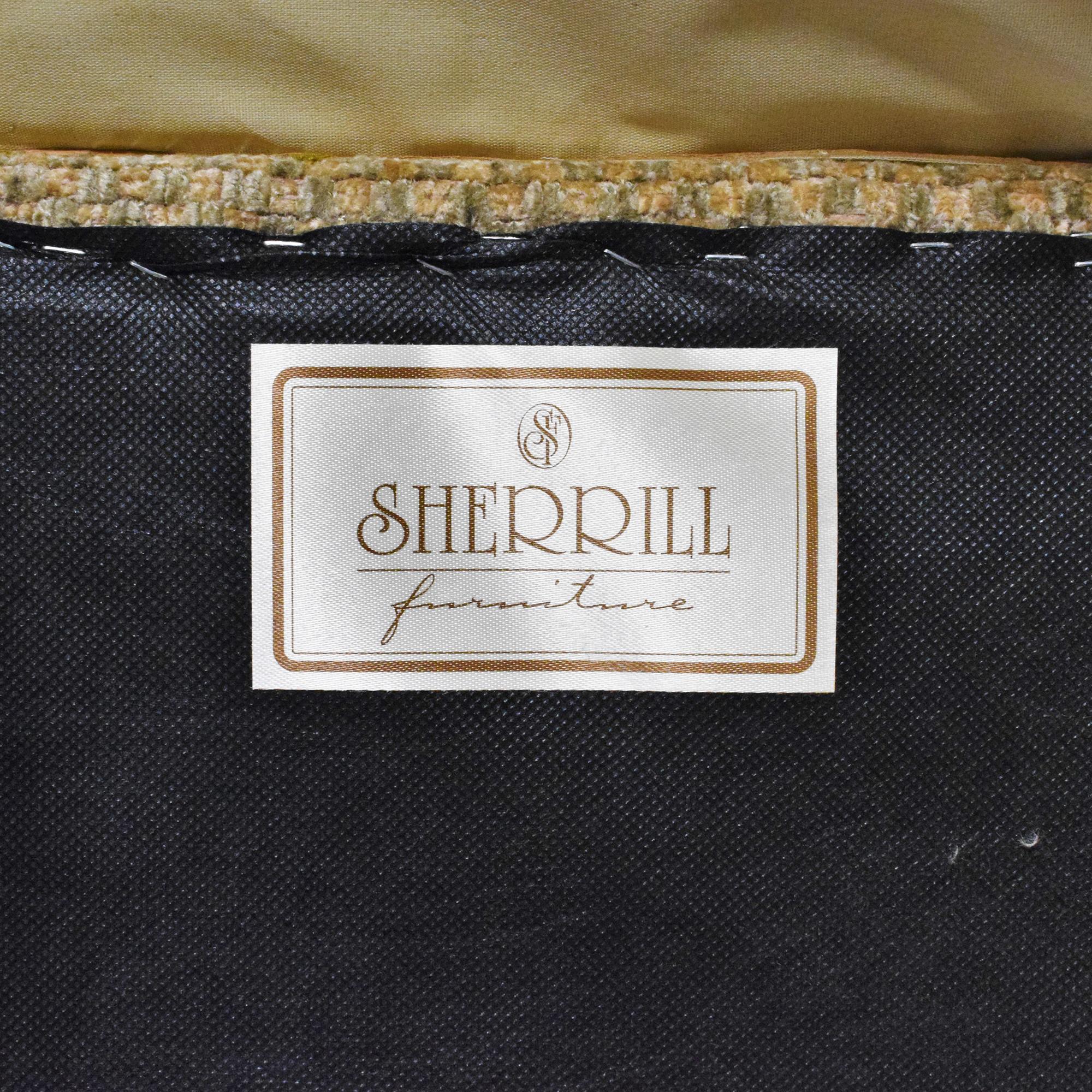 shop Sherrill Furniture Sherrill Furniture Skirted Ottoman online