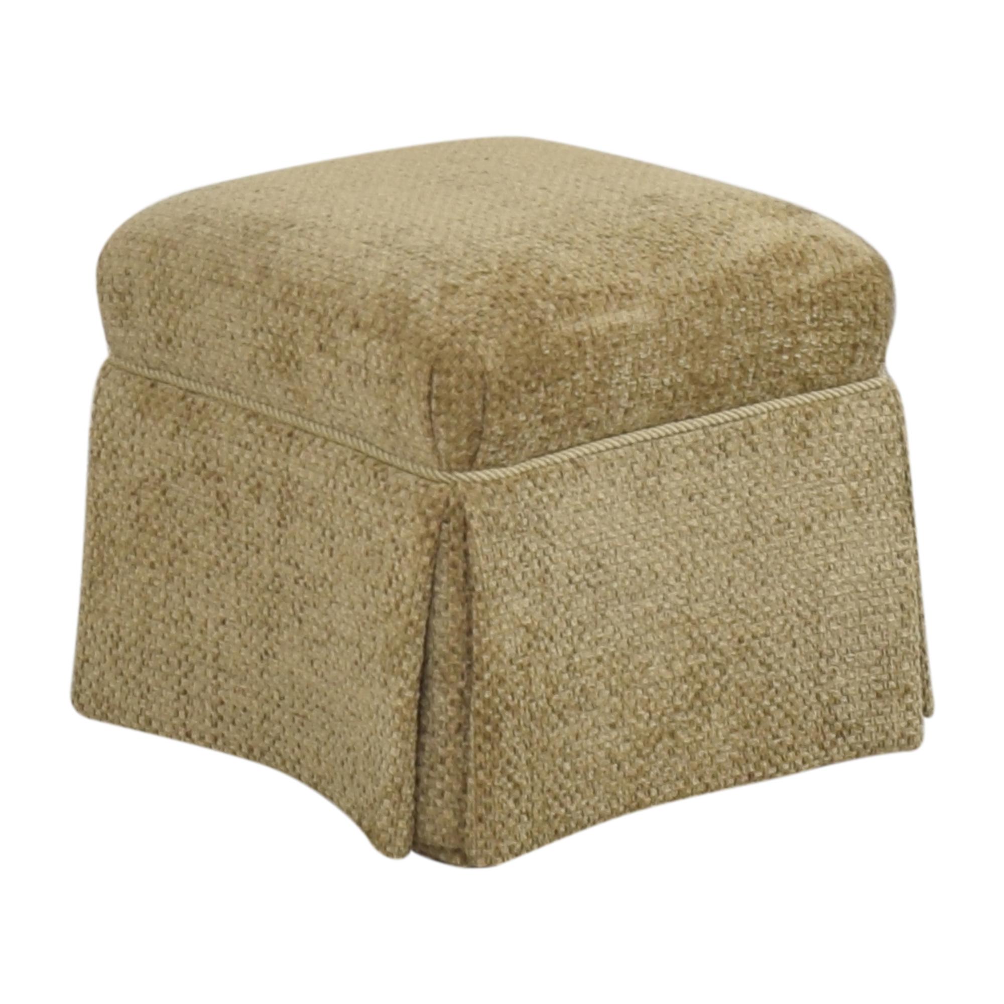 buy Sherrill Furniture Sherrill Furniture Skirted Ottoman online