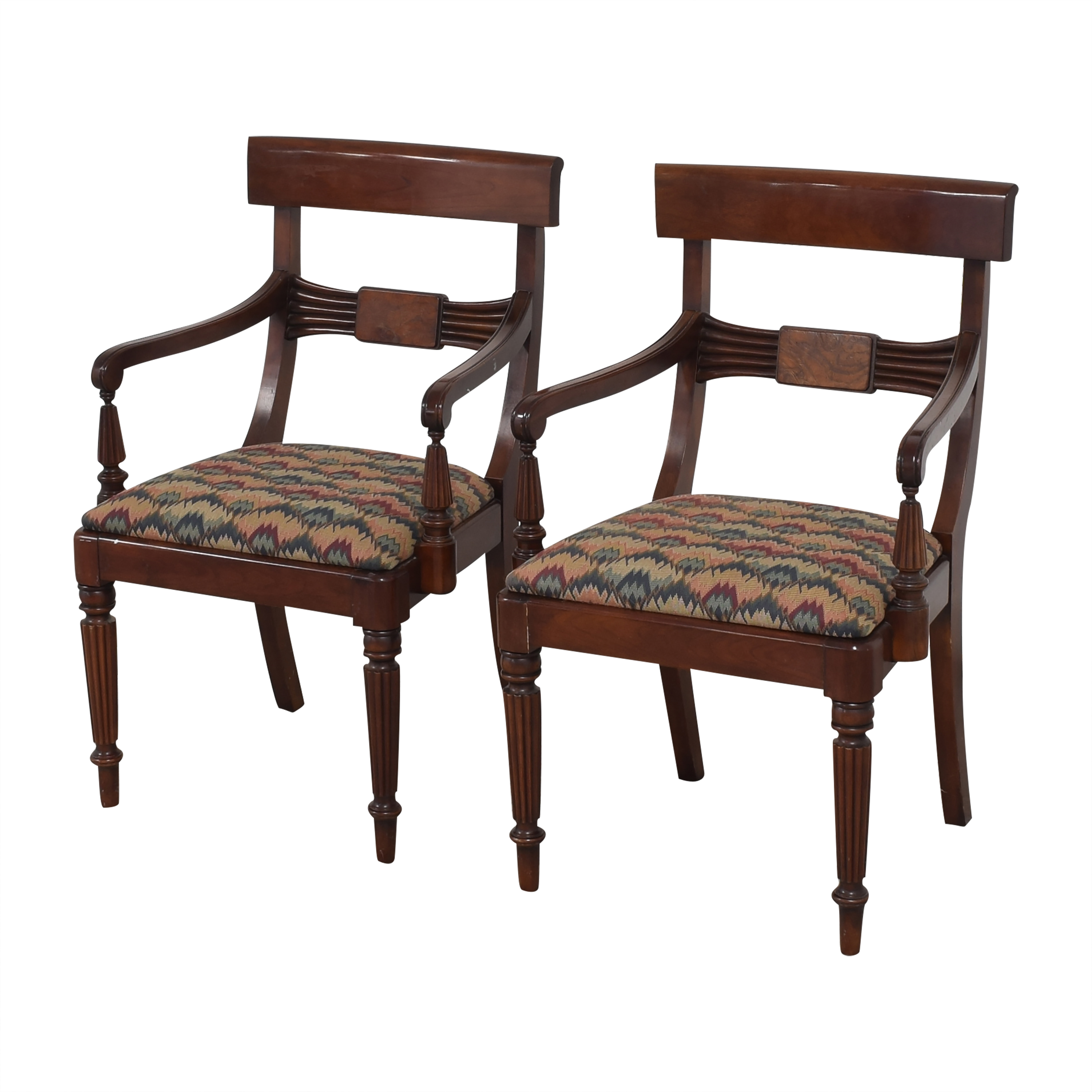 Statton Statton Dining Arm Chairs for sale