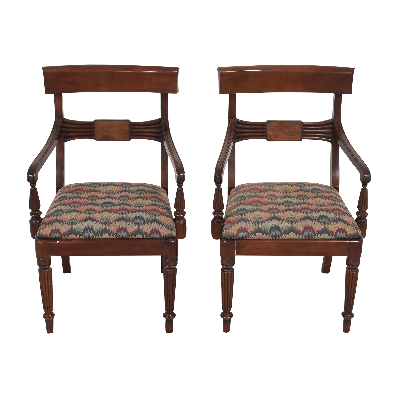 Statton Statton Dining Arm Chairs