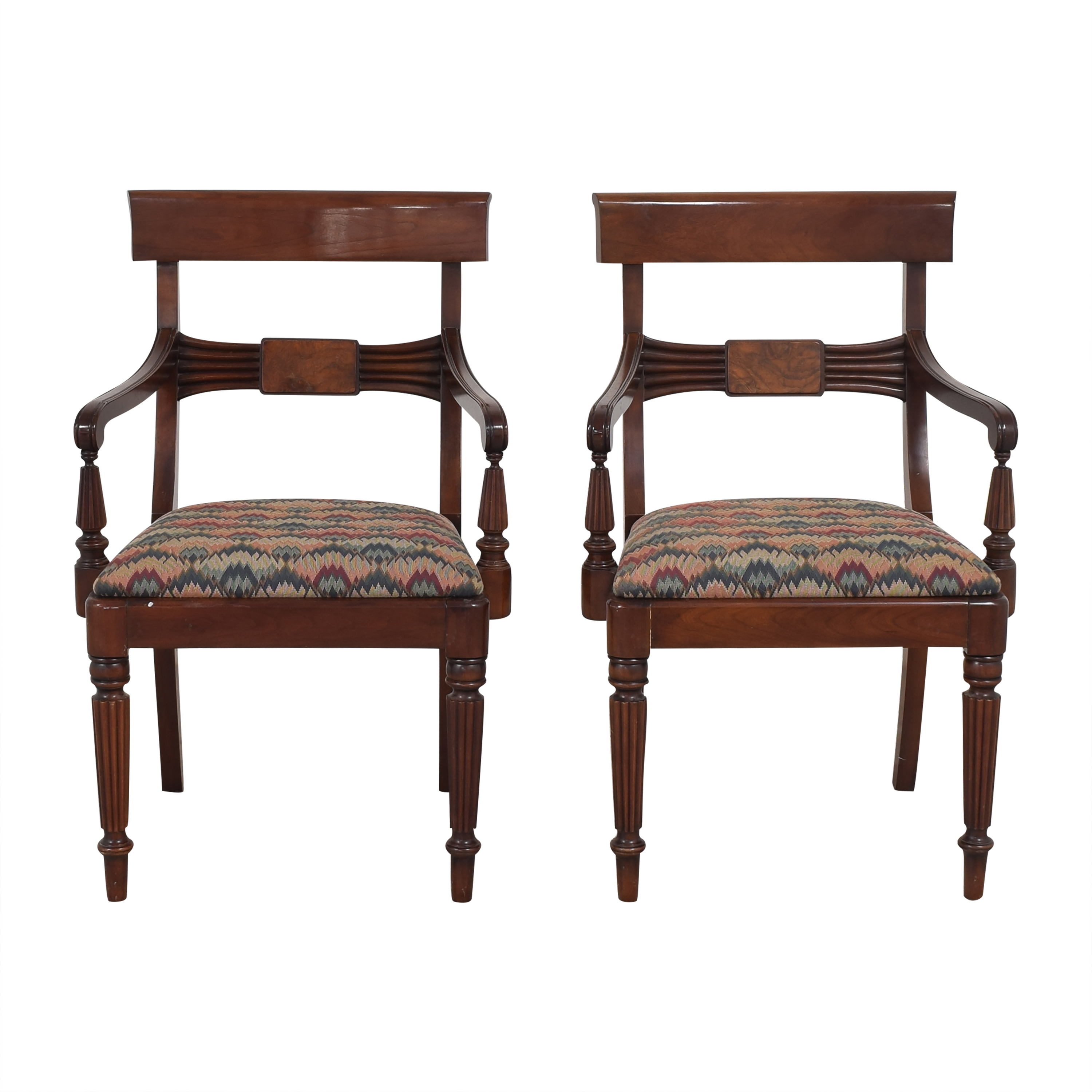 Statton Statton Dining Arm Chairs pa