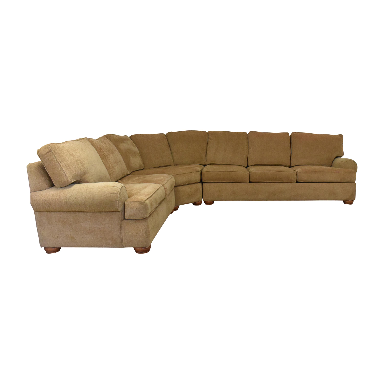 buy Ethan Allen L Shaped Sectional Sofa Ethan Allen