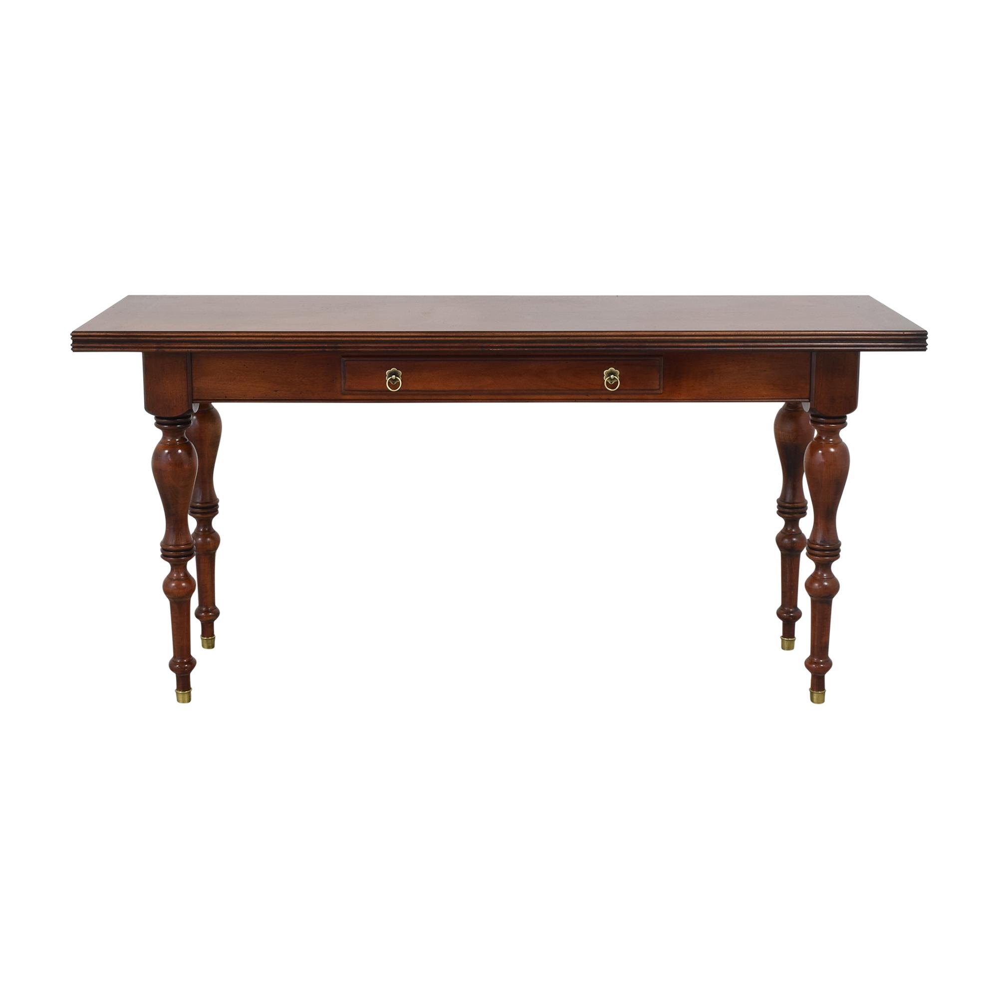 Ethan Allen Ethan Allen British Classics Expandable Console Table for sale