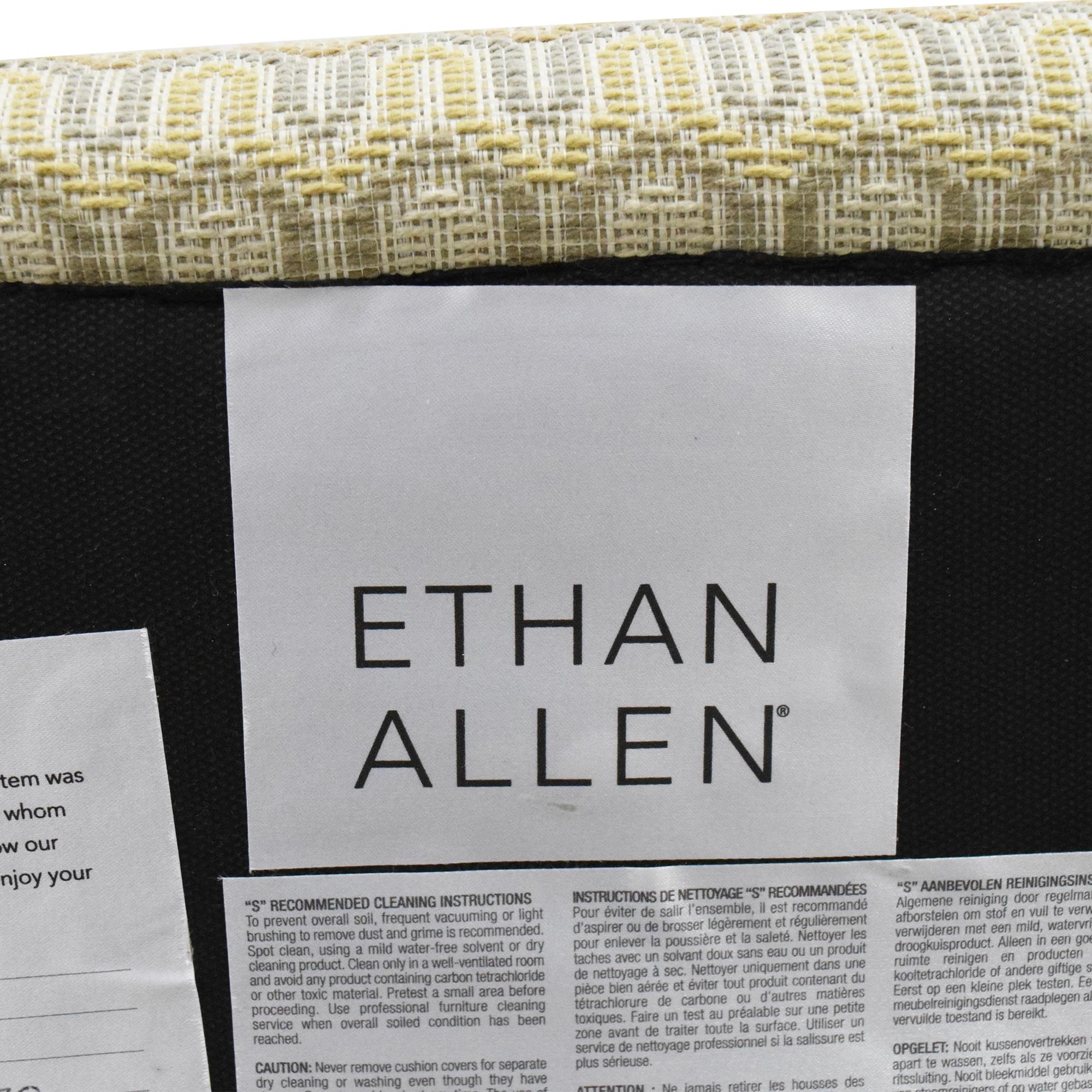 buy Ethan Allen Ethan Allen Bentley Roll Arm Recliner online