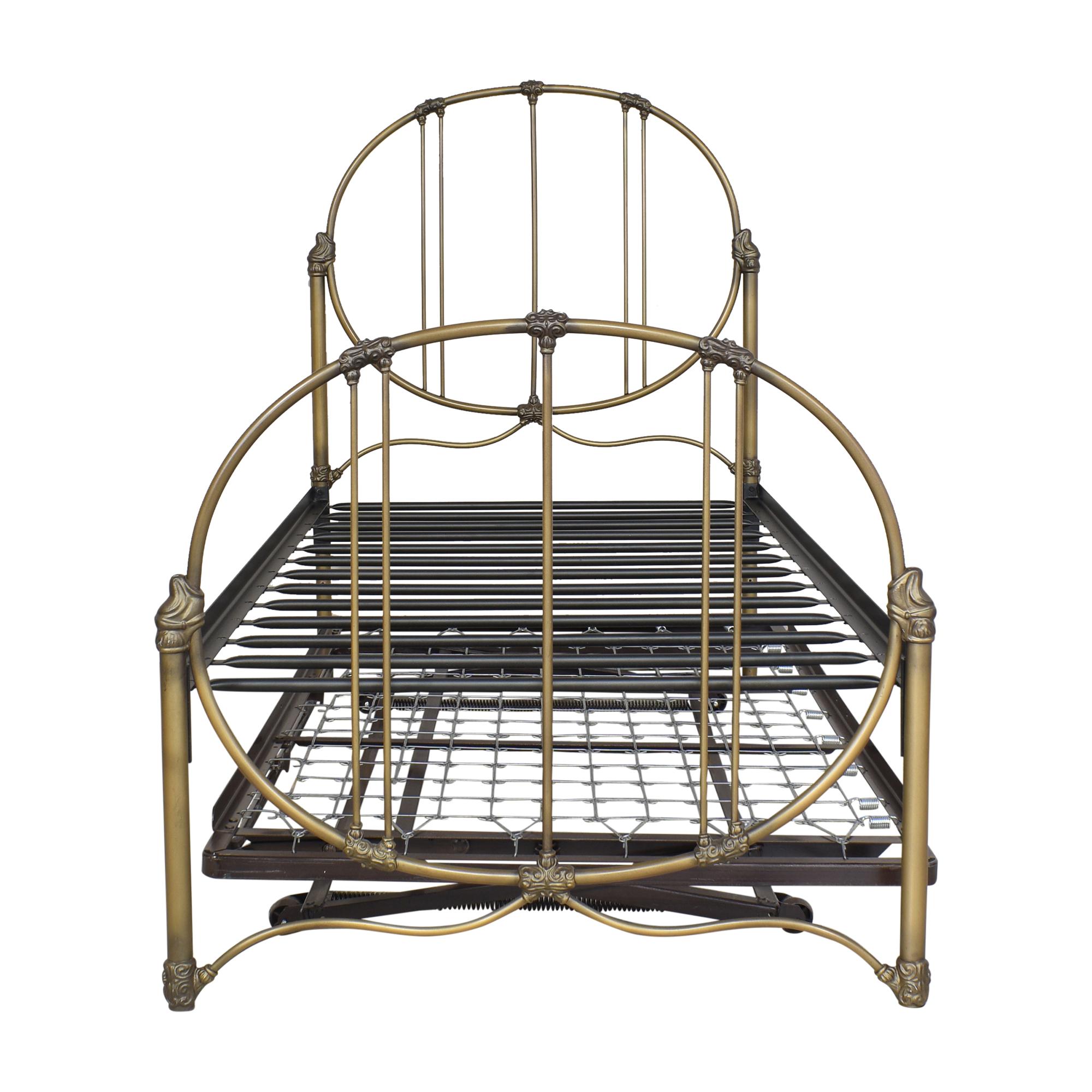 buy  Openwork Twin Trundle Bed online