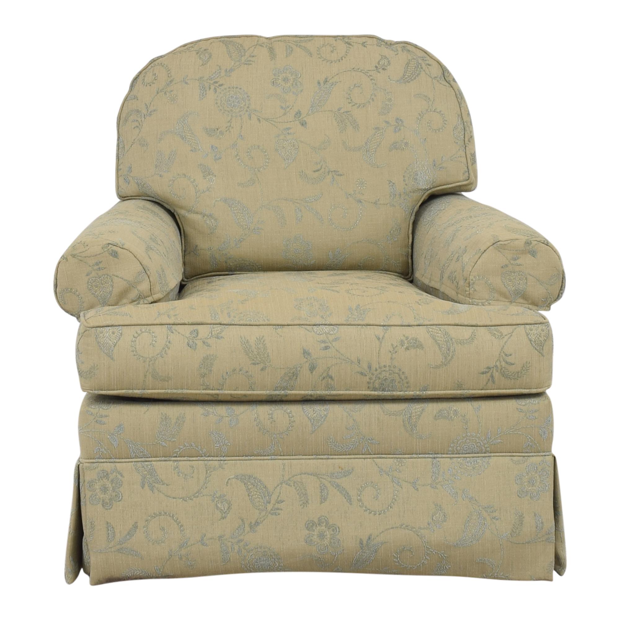Ethan Allen Devonshire Swivel Glider / Accent Chairs