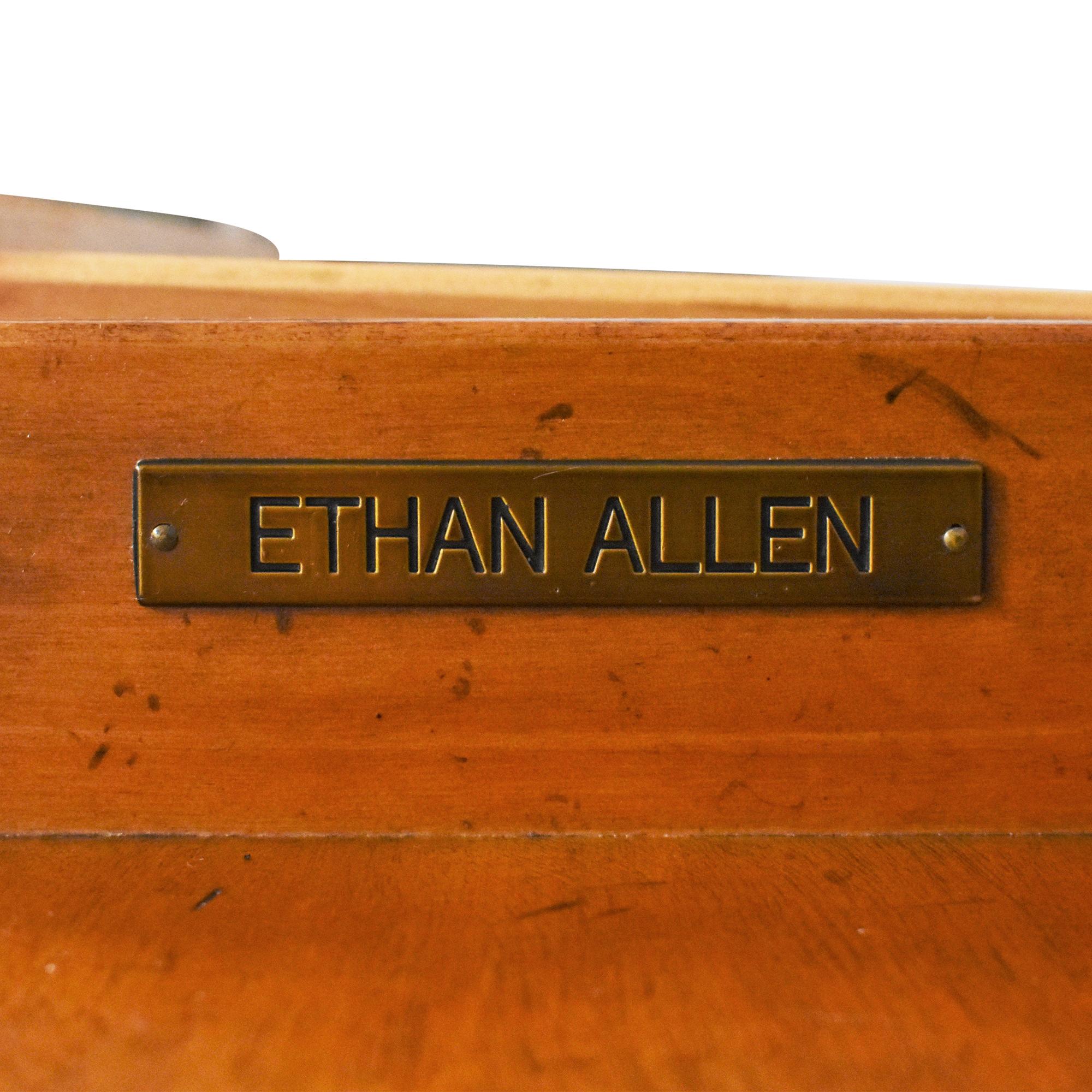 Ethan Allen Ethan Allen Hawke Double Pedestal Desk nyc