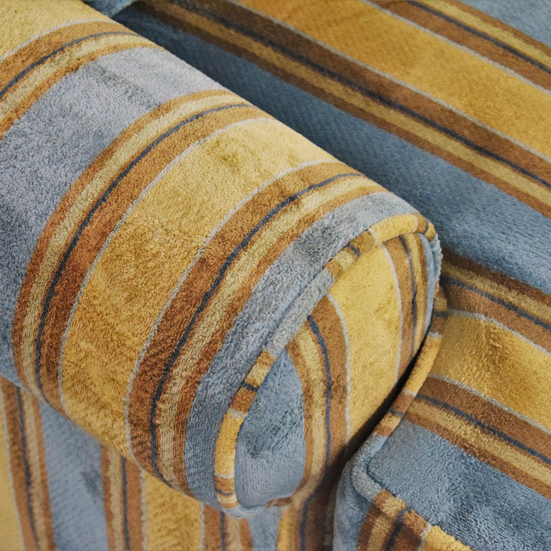 Kravet Kravet Striped Loveseat dimensions