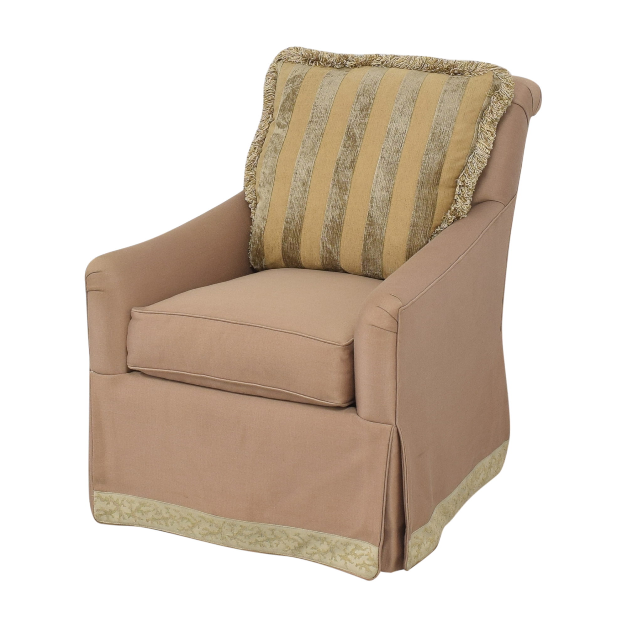 Tomlinson Tomlinson Erwin-Lambeth Upholstered Swivel Chair used