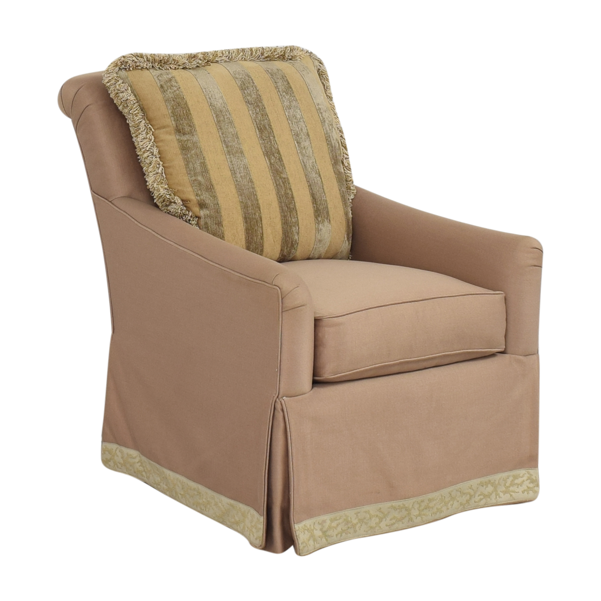 Tomlinson Tomlinson Erwin-Lambeth Upholstered Swivel Chair second hand