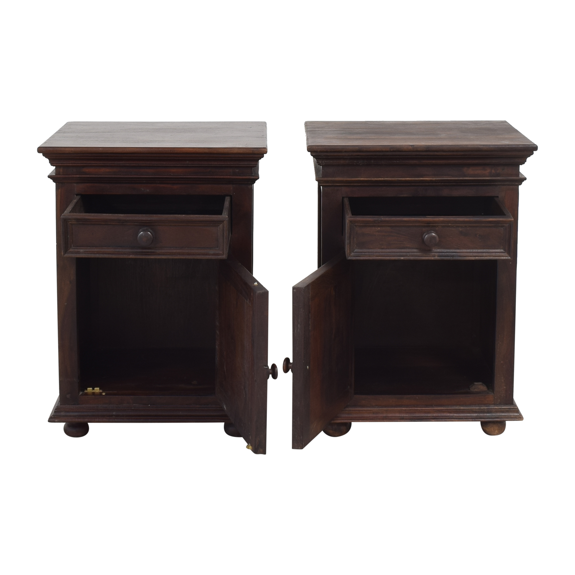 Single Drawer Nightstands Tables
