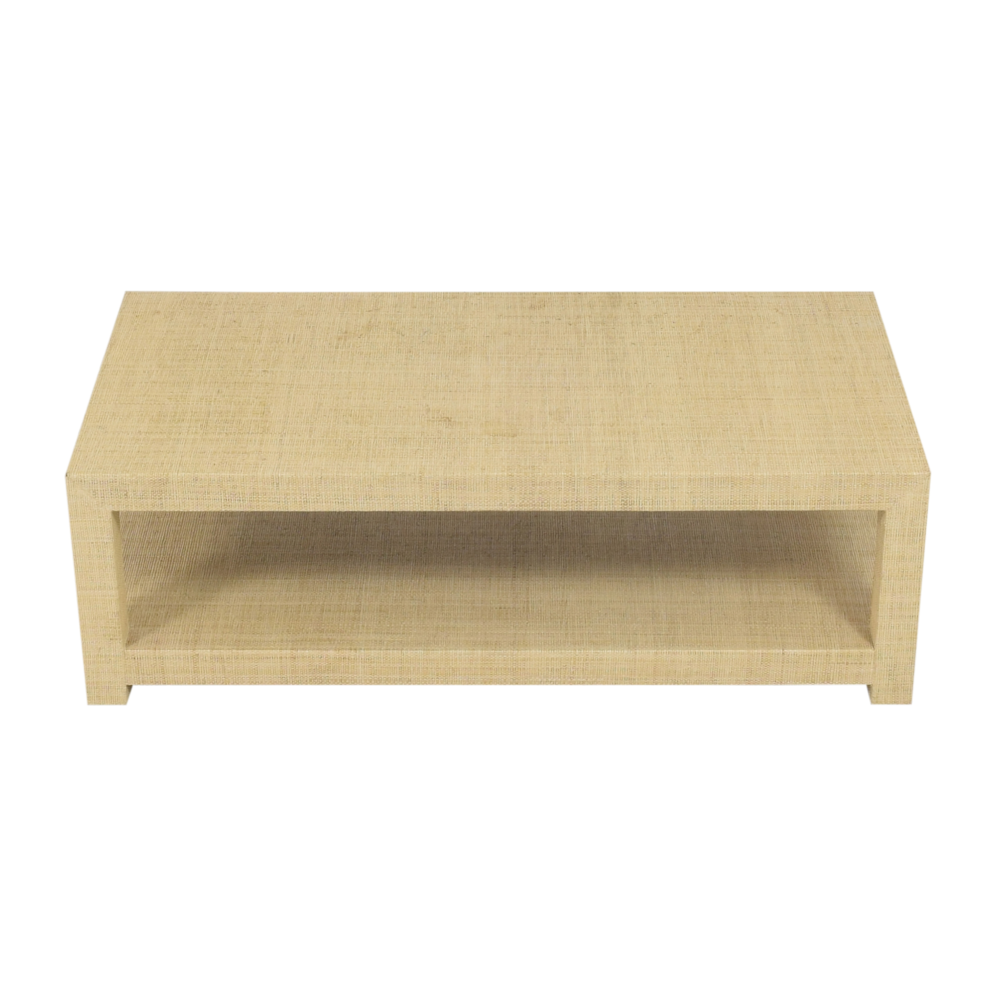 Serena & Lily Serena & Lily Blake Rectangular Coffee Table second hand