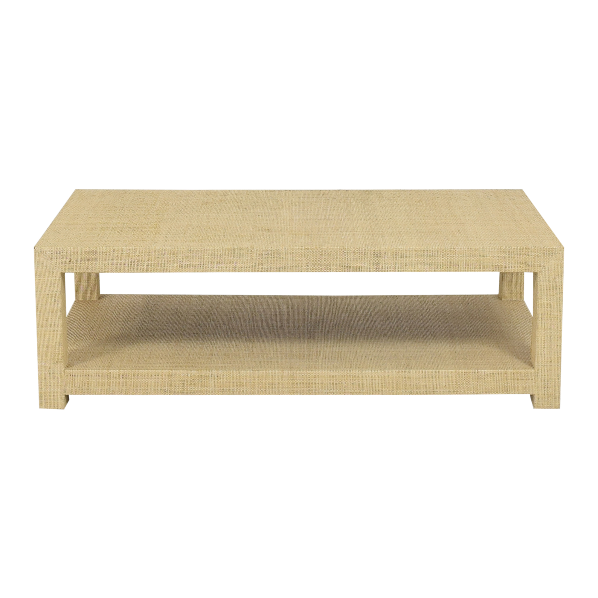 Serena & Lily Serena & Lily Blake Rectangular Coffee Table for sale